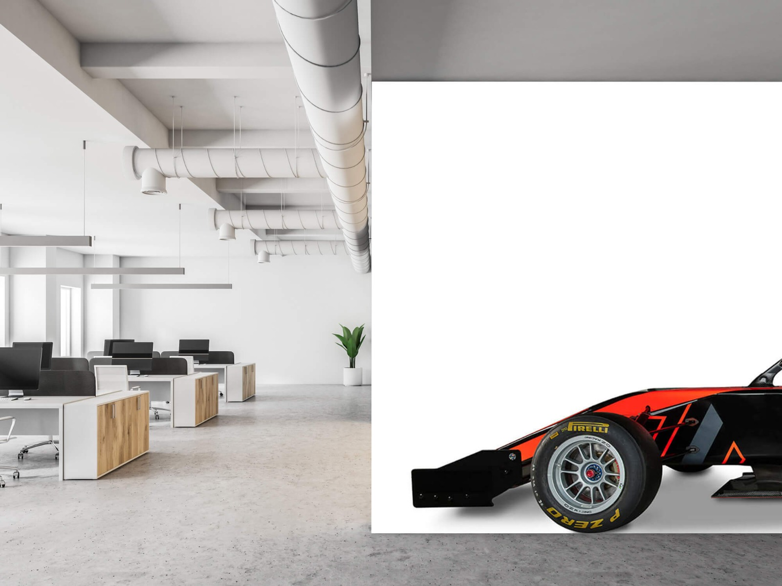 Sportauto's - Formule 3 - Lower side view - Computerruimte 21
