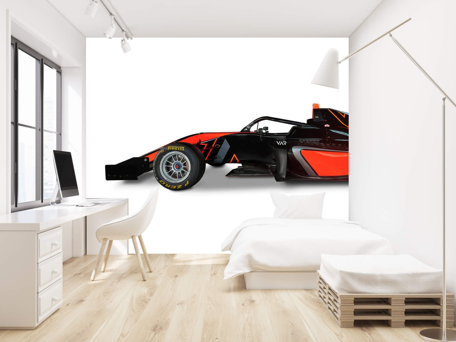 Sportauto's - Formule 3 - Lower side view - Computerruimte 22