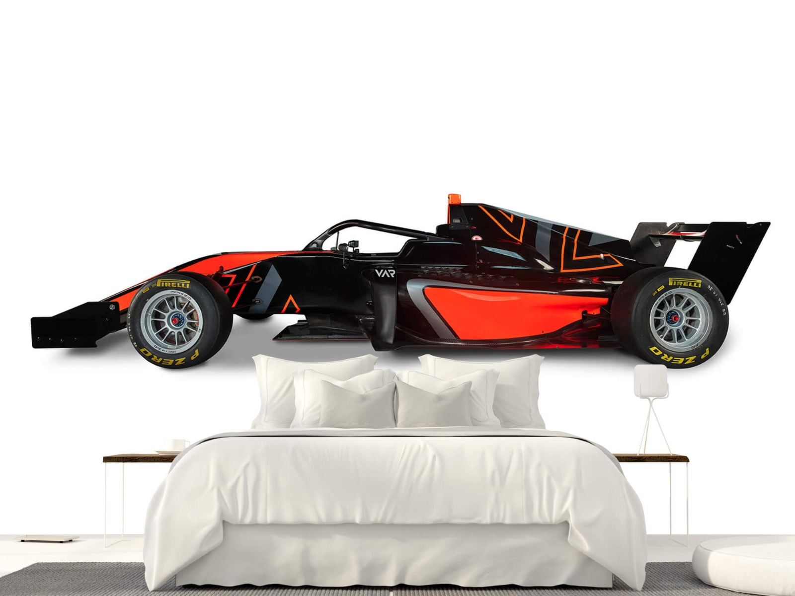 Sportauto's - Formule 3 - Lower side view - Computerruimte 23