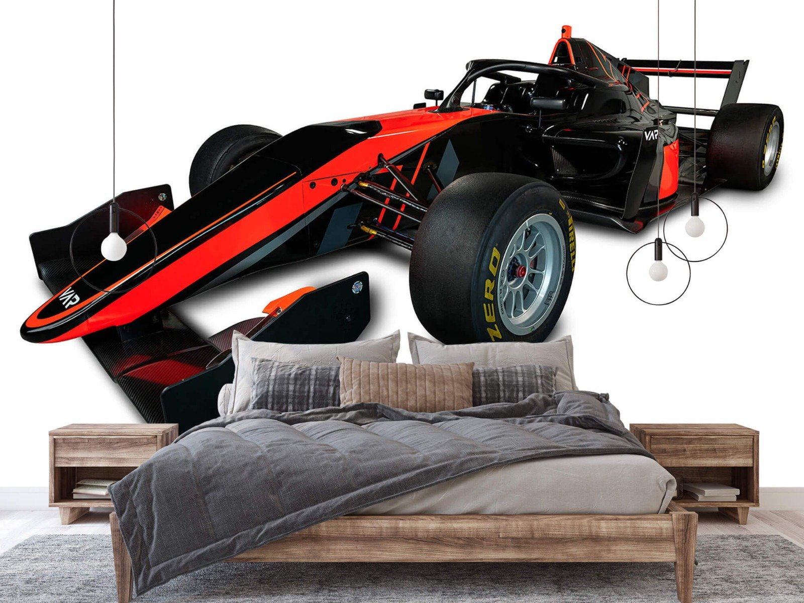 Sportauto's - Formule 3 - Left front view - Tienerkamer 3