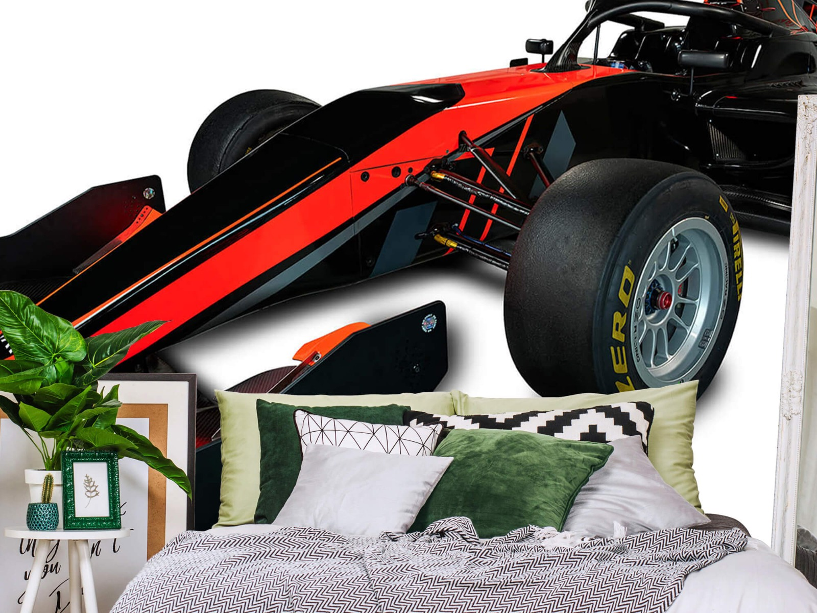 Sportauto's - Formule 3 - Left front view - Tienerkamer 12