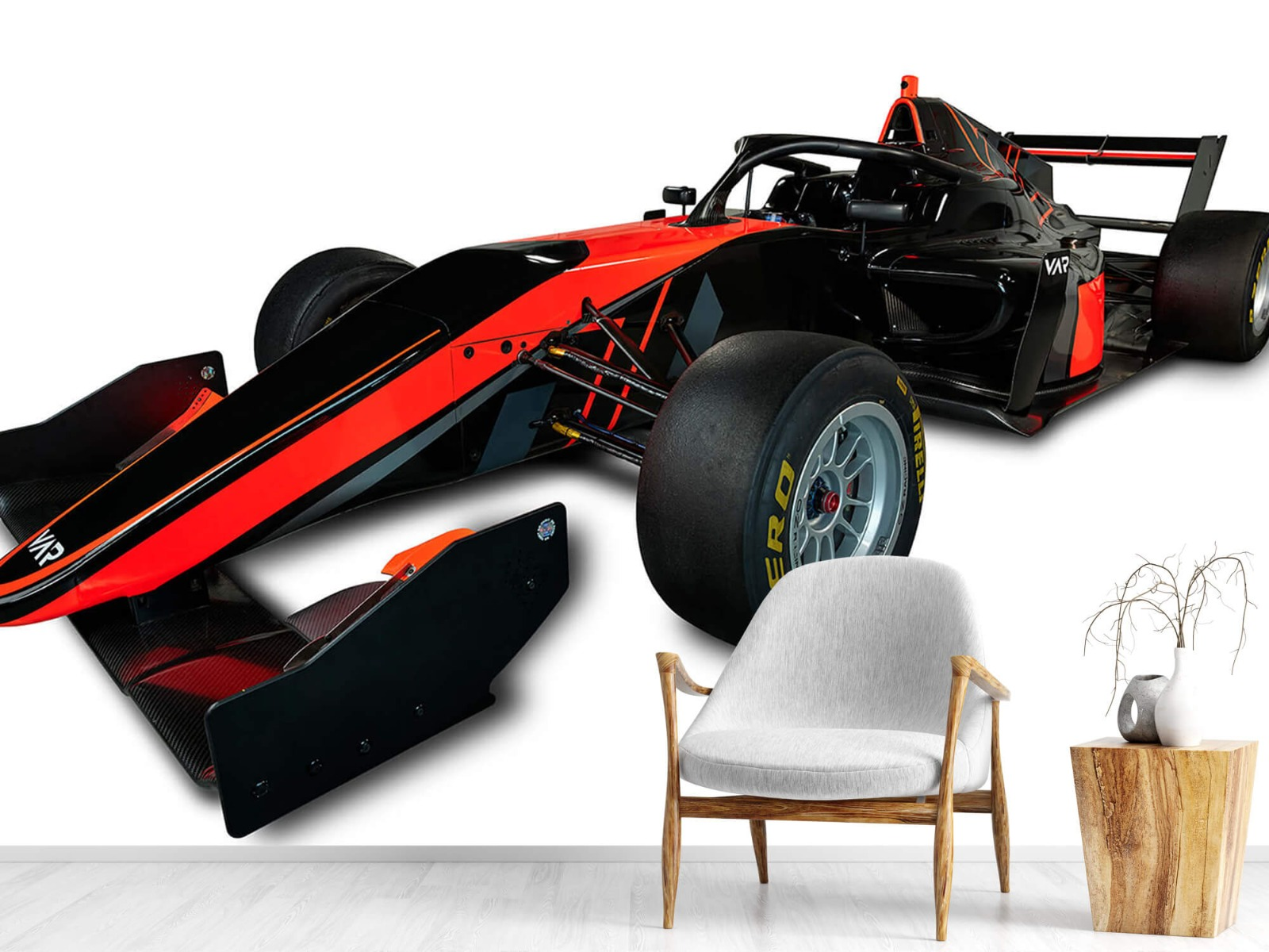 Sportauto's - Formule 3 - Left front view - Tienerkamer 18