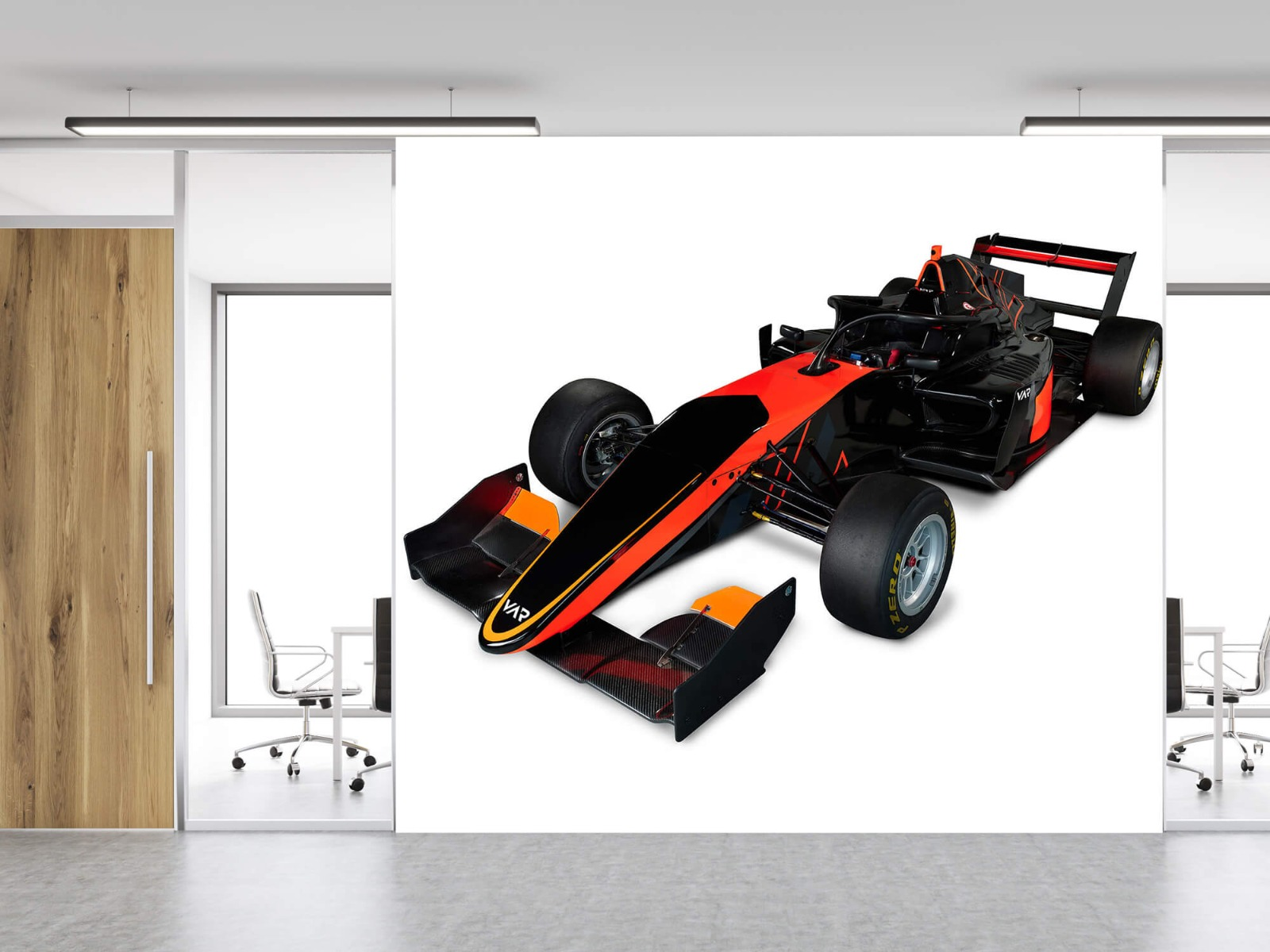 Sportauto's - Formula 3 - Left front view, 3d - Computerruimte 12