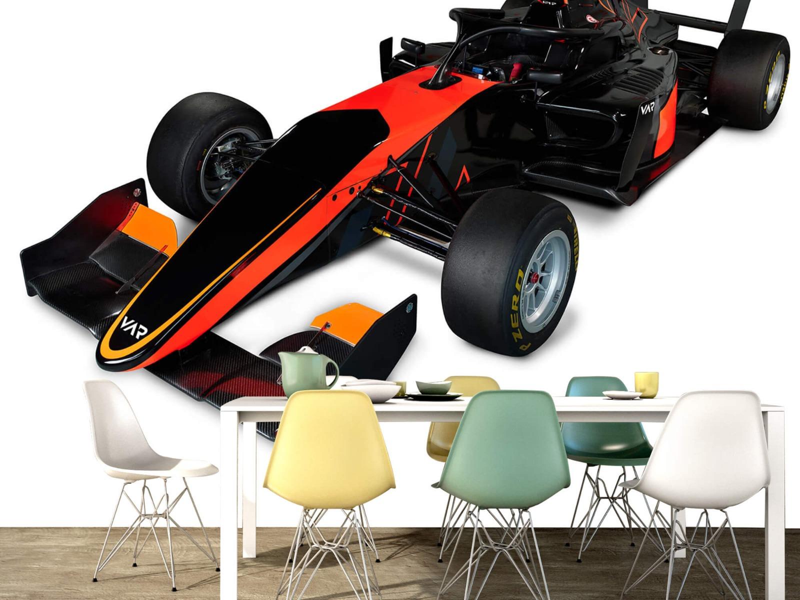 Sportauto's - Formula 3 - Left front view, 3d - Computerruimte 16