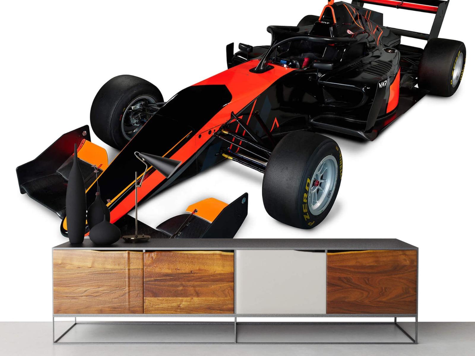 Sportauto's - Formula 3 - Left front view, 3d - Computerruimte 17