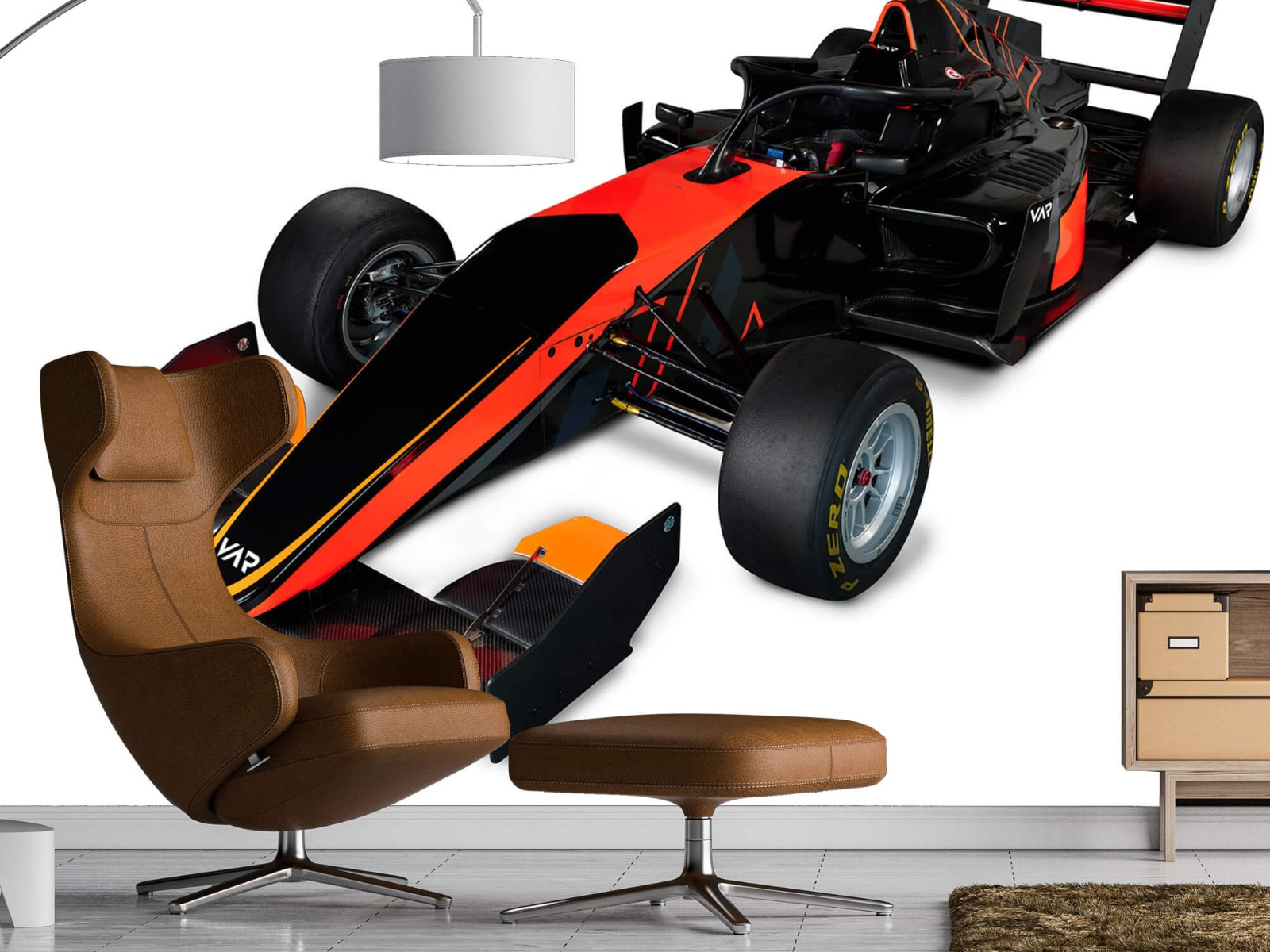 Sportauto's - Formula 3 - Left front view, 3d - Computerruimte 1