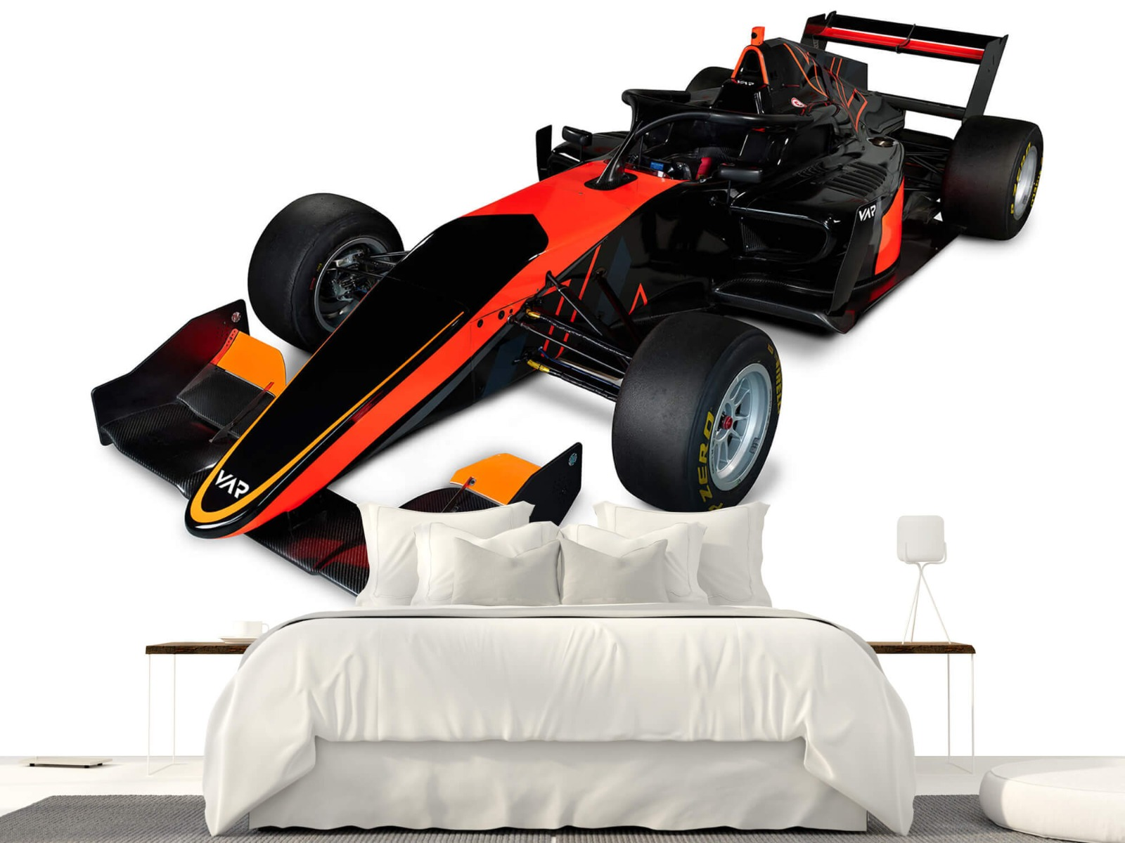 Sportauto's - Formula 3 - Left front view, 3d - Computerruimte 23