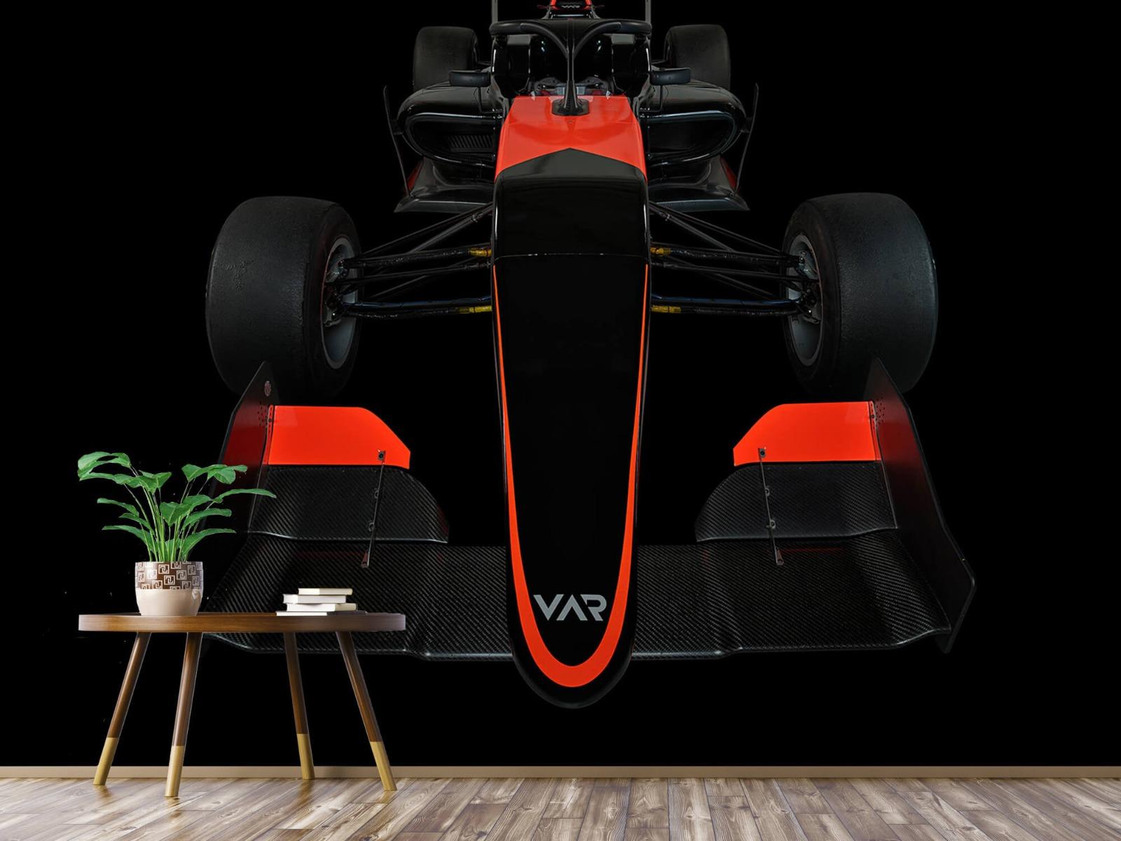 Sportauto's - Formule 3 - Front view - dark - Tienerkamer 4