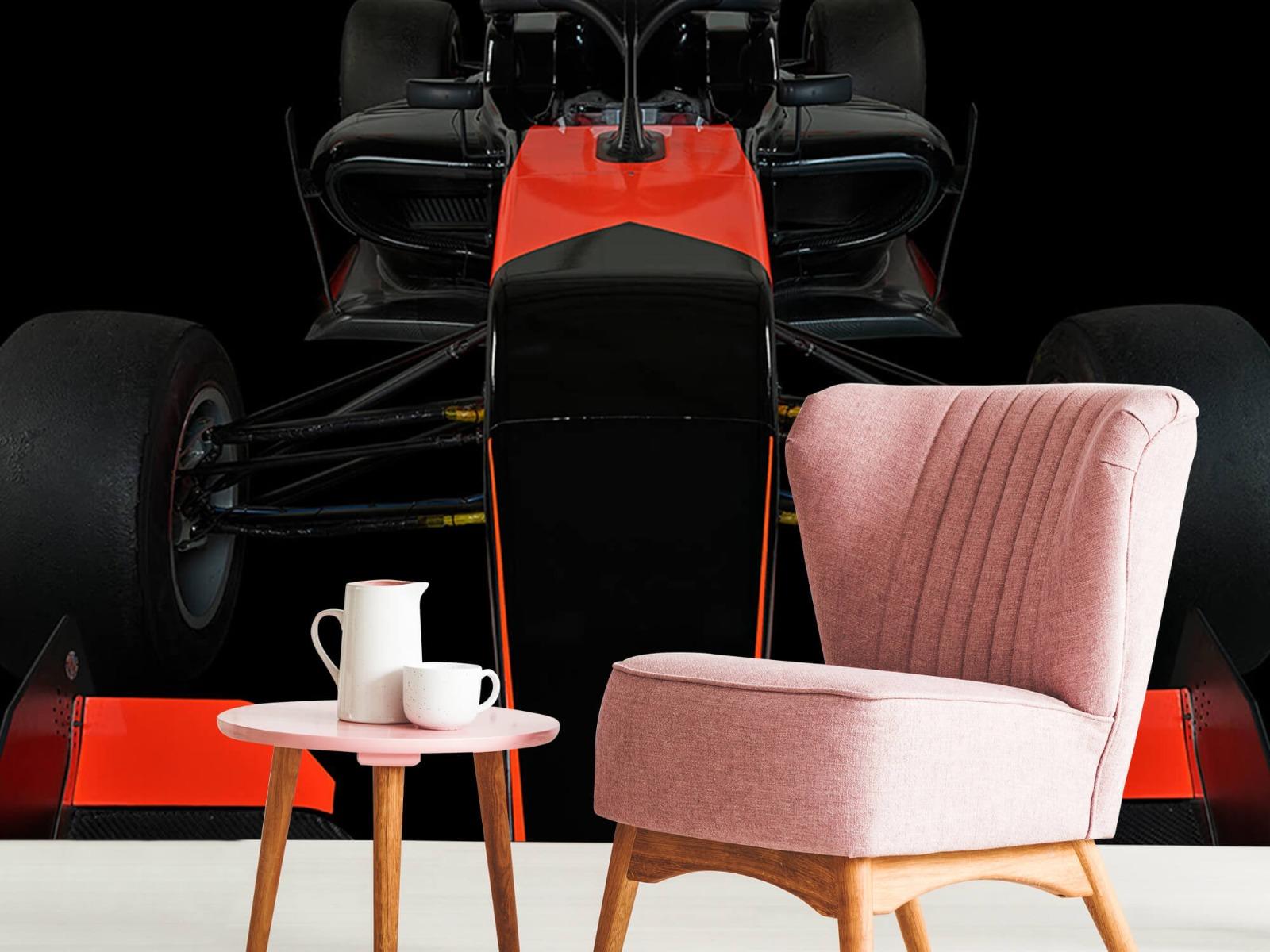 Sportauto's - Formule 3 - Front view - dark - Tienerkamer 9