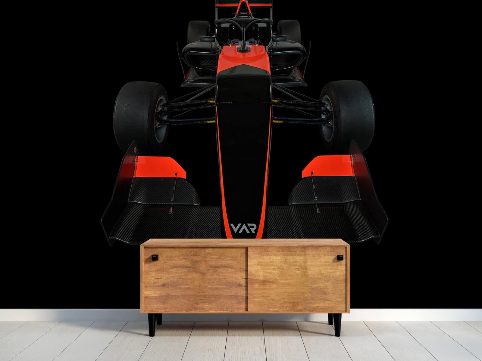 Sportauto's - Formule 3 - Front view - dark - Tienerkamer 10