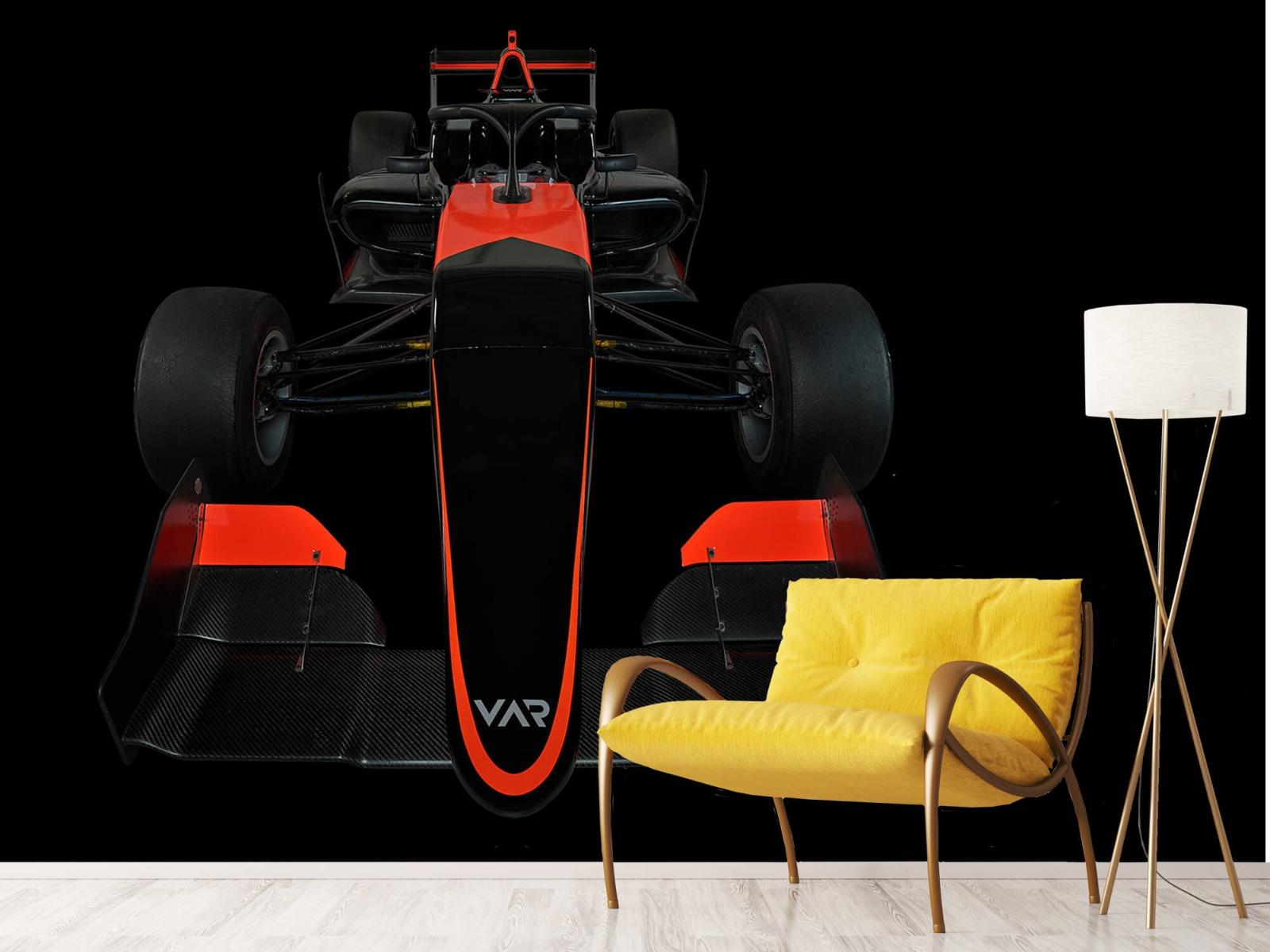 Sportauto's - Formule 3 - Front view - dark - Tienerkamer 11