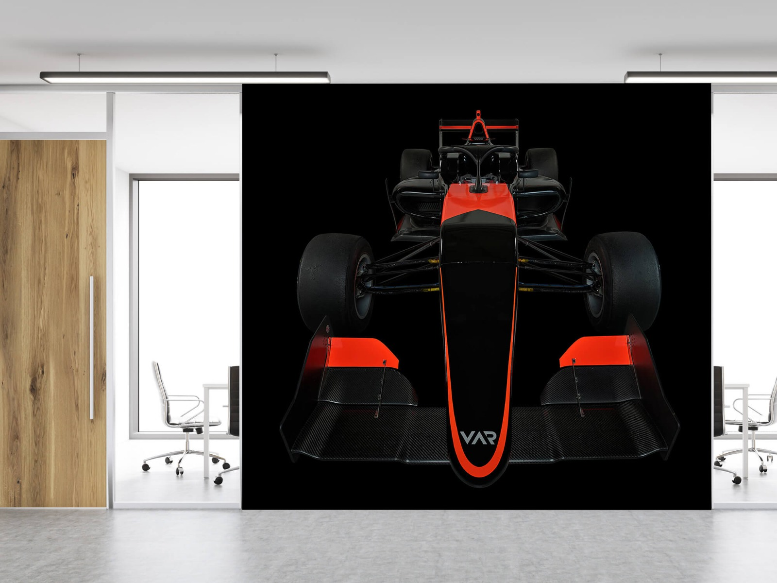 Sportauto's - Formule 3 - Front view - dark - Tienerkamer 12