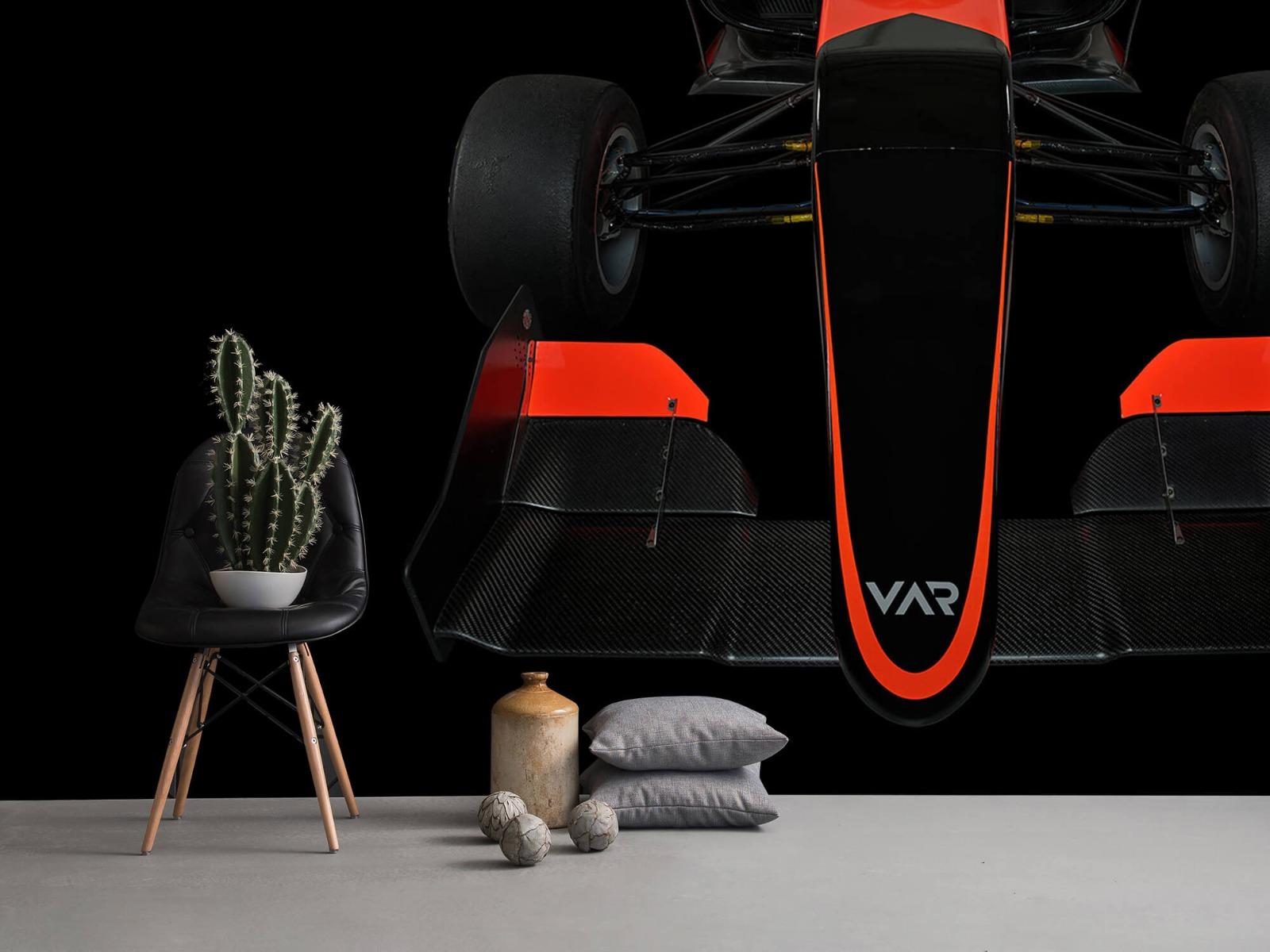 Sportauto's - Formule 3 - Front view - dark - Tienerkamer 14