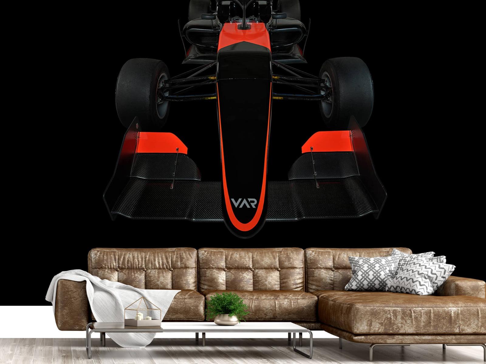 Sportauto's - Formule 3 - Front view - dark - Tienerkamer 15