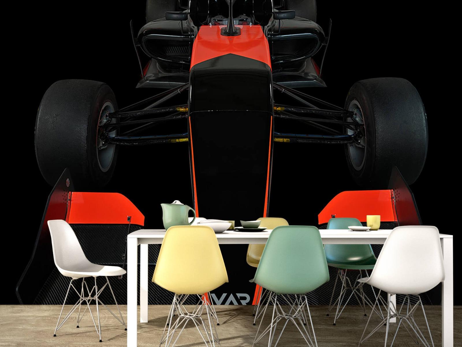 Sportauto's - Formule 3 - Front view - dark - Tienerkamer 16