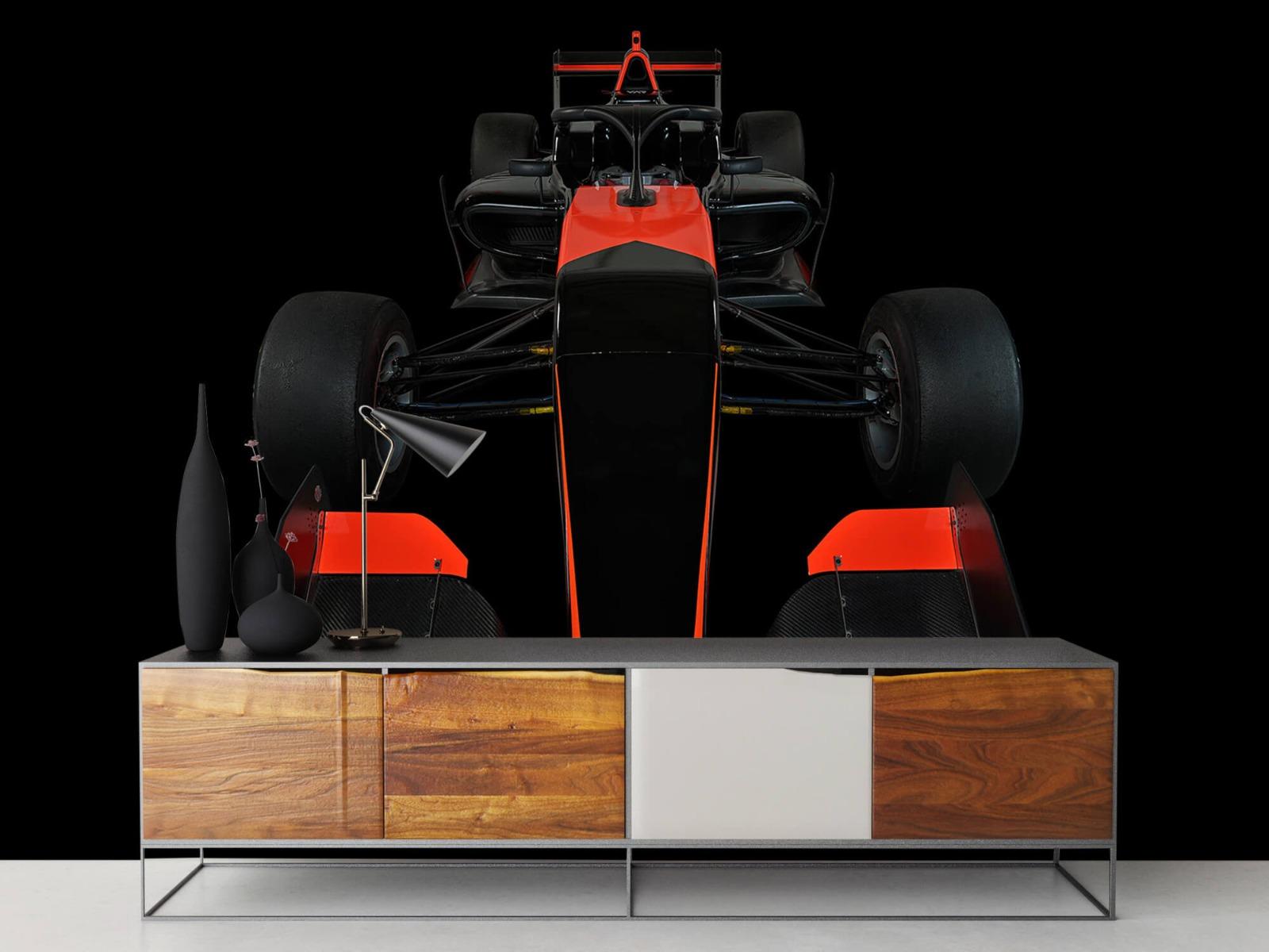 Sportauto's - Formule 3 - Front view - dark - Tienerkamer 17