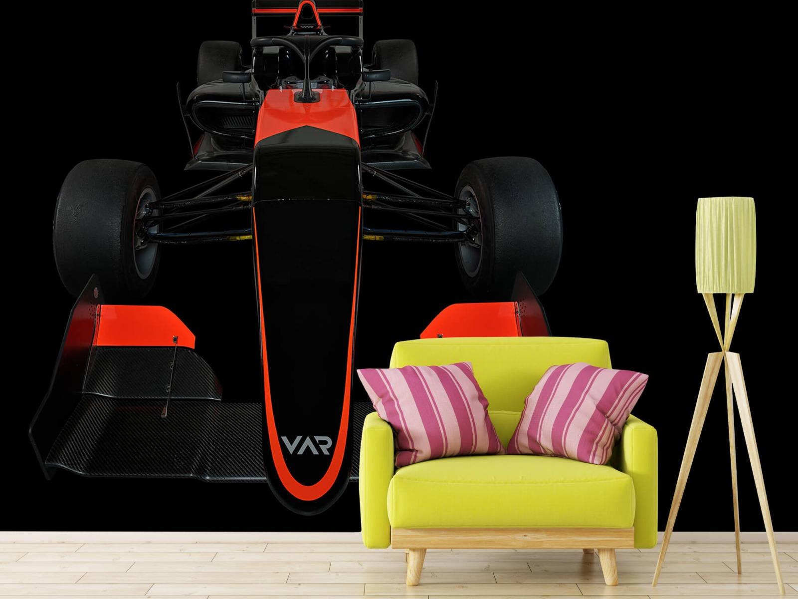 Sportauto's - Formule 3 - Front view - dark - Tienerkamer 18