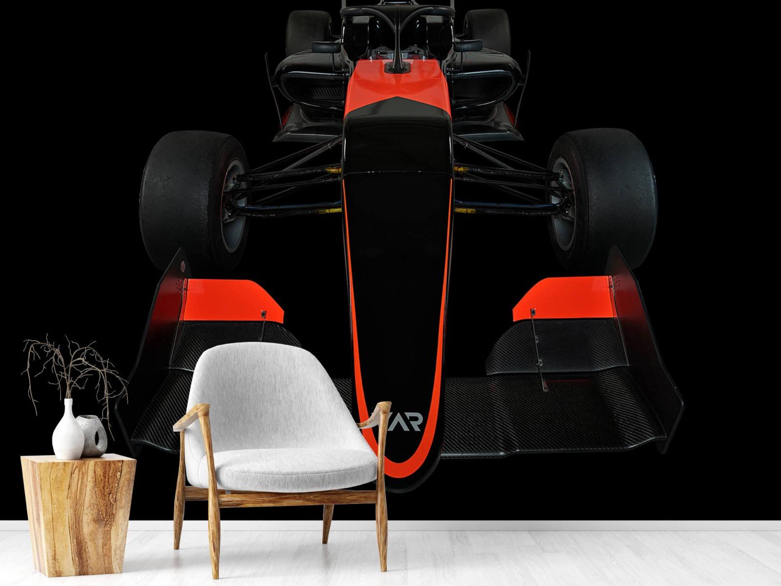 Sportauto's - Formule 3 - Front view - dark - Tienerkamer 19