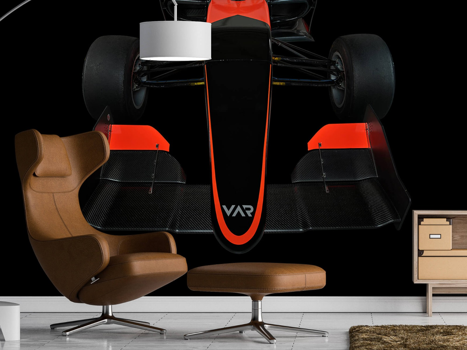 Sportauto's - Formule 3 - Front view - dark - Tienerkamer 20