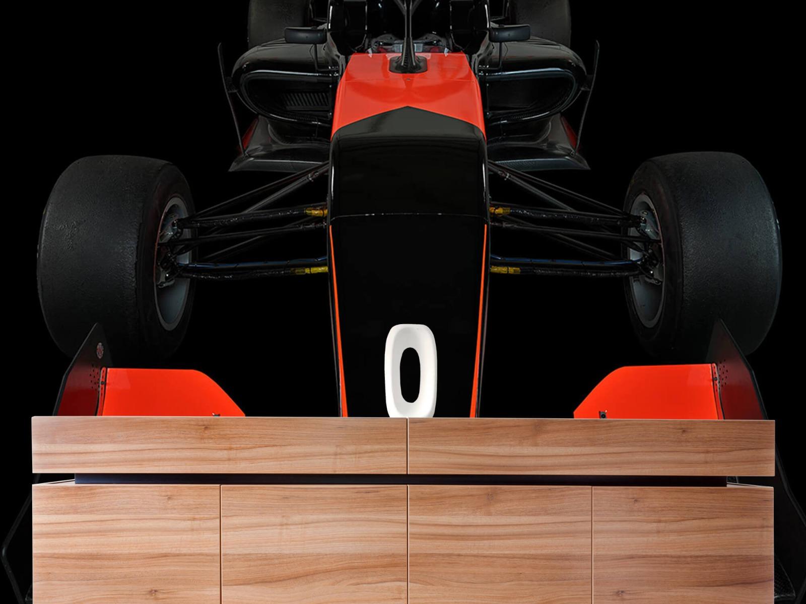 Sportauto's - Formule 3 - Front view - dark - Tienerkamer 21