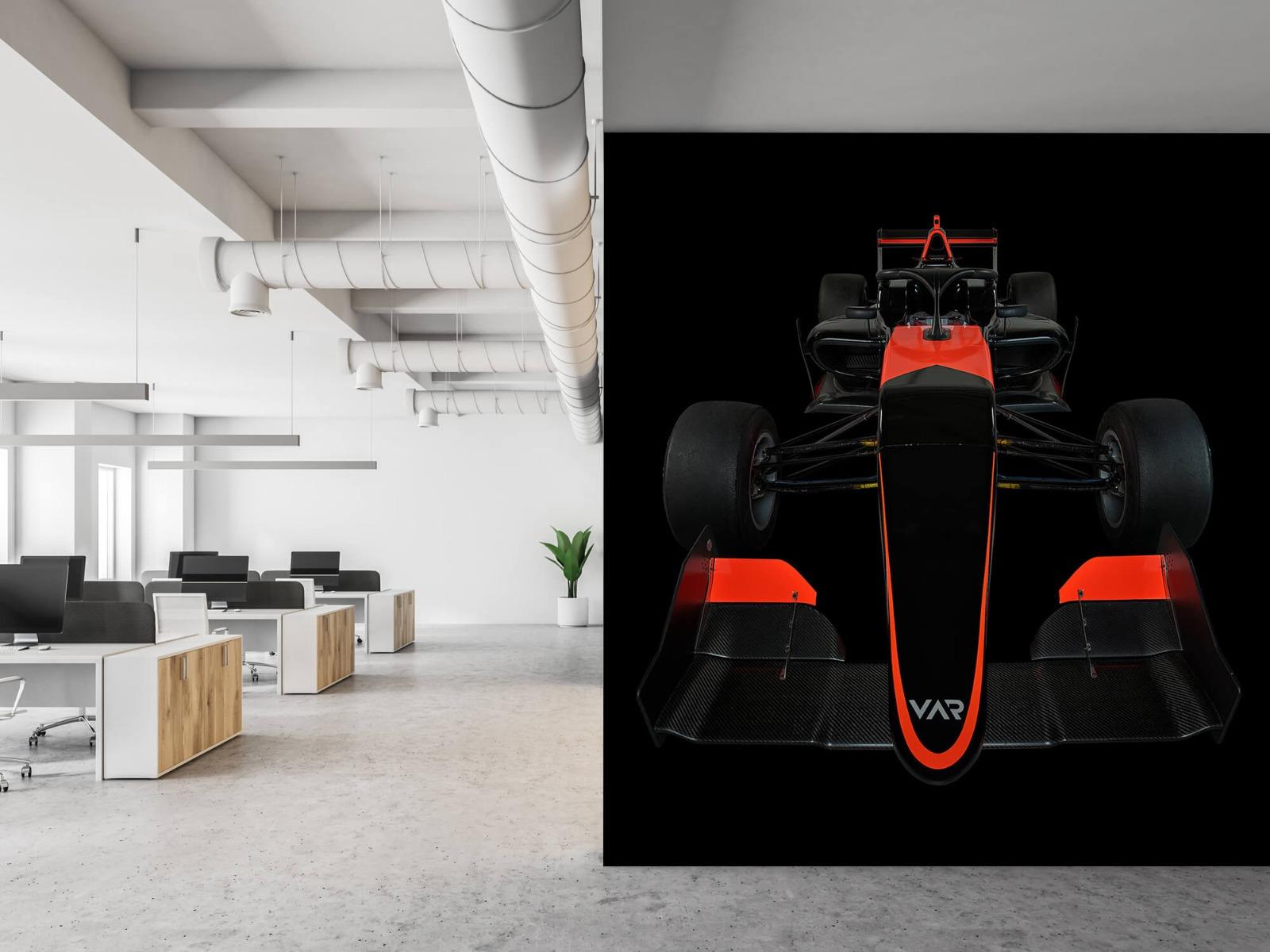 Sportauto's - Formule 3 - Front view - dark - Tienerkamer 22