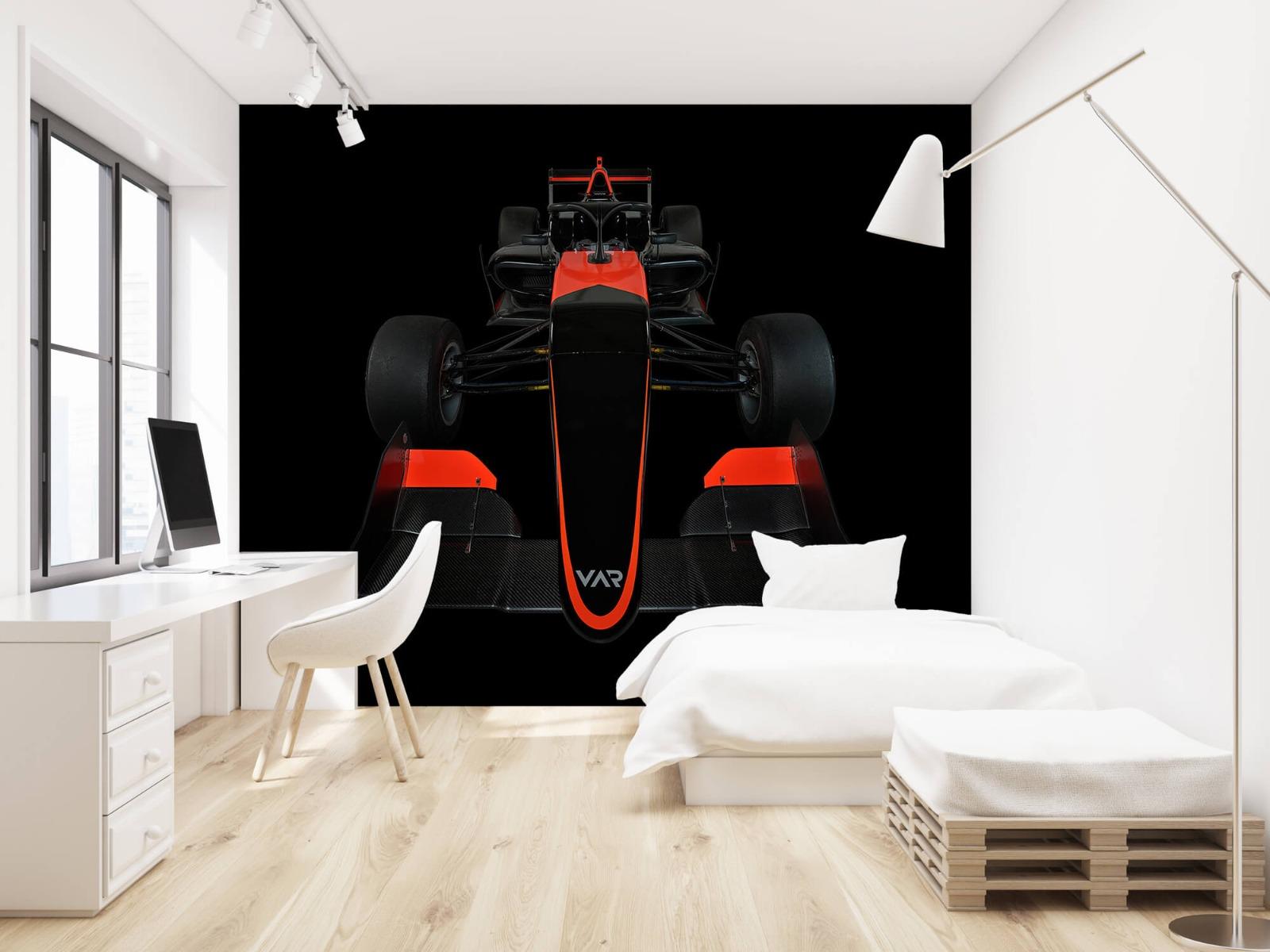 Sportauto's - Formule 3 - Front view - dark - Tienerkamer 23