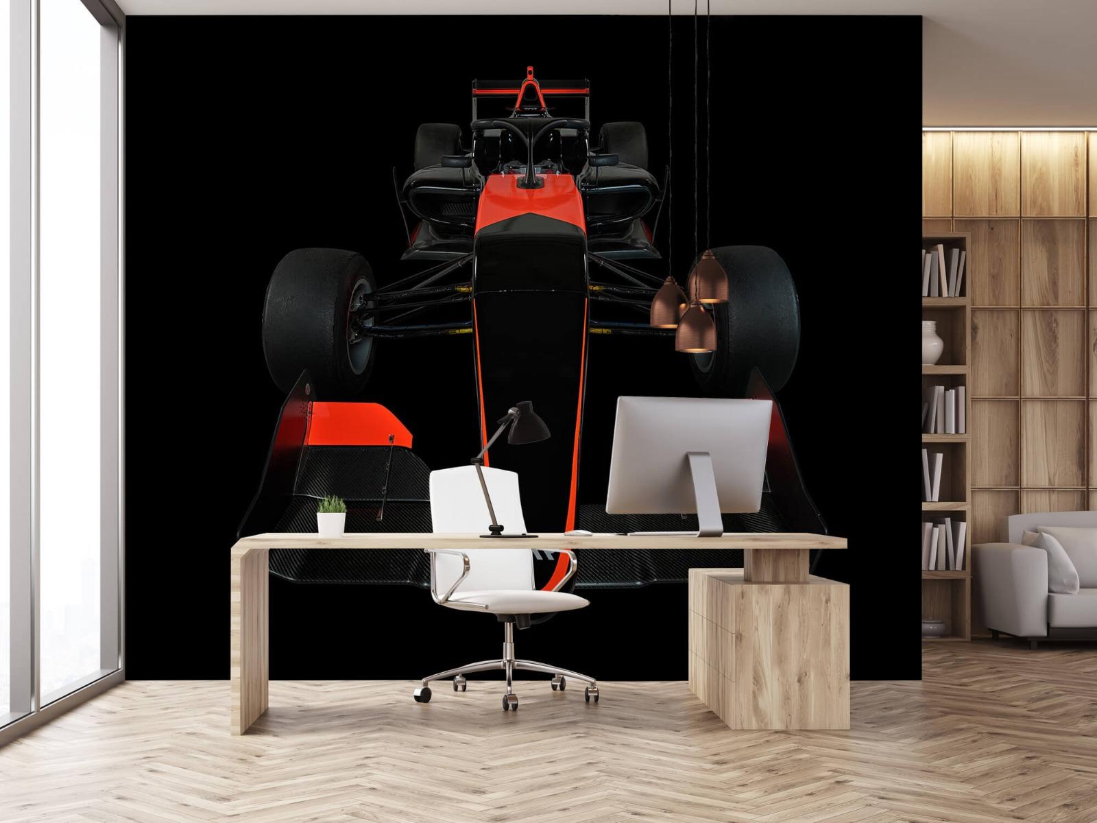 Sportauto's - Formule 3 - Front view - dark - Tienerkamer 1