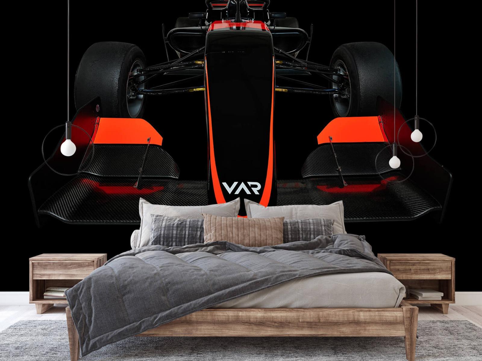 Sportauto's - Formule 3 - Lower front view - dark - Slaapkamer 2