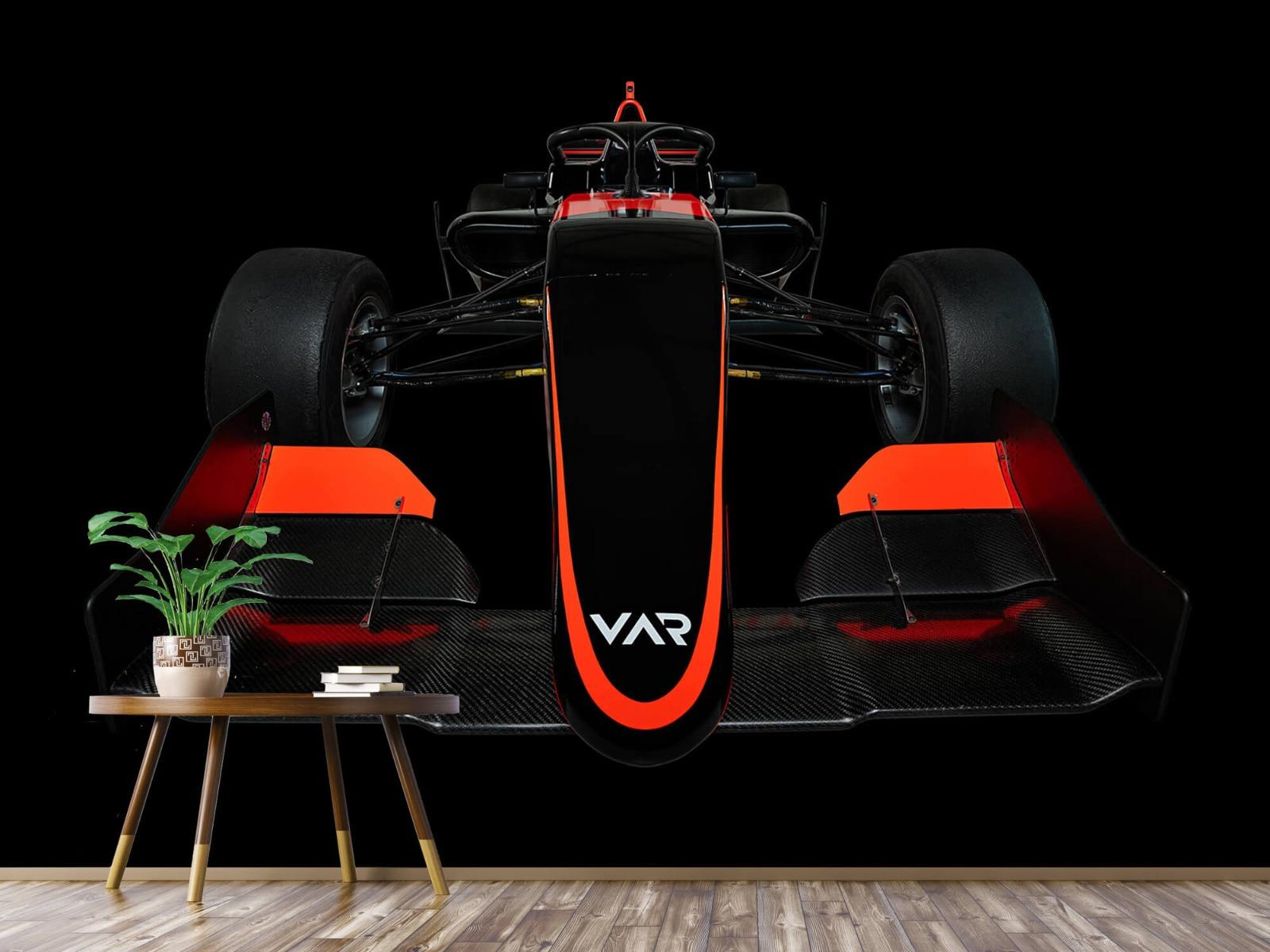 Sportauto's - Formule 3 - Lower front view - dark - Slaapkamer 4