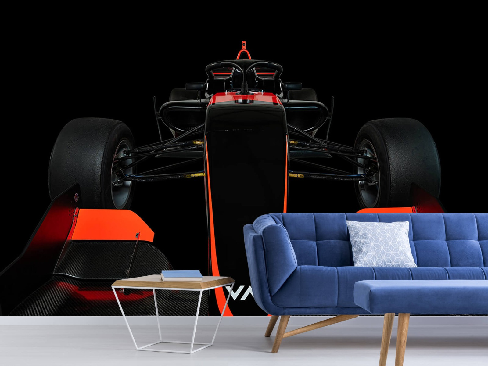 Sportauto's - Formule 3 - Lower front view - dark - Slaapkamer 5
