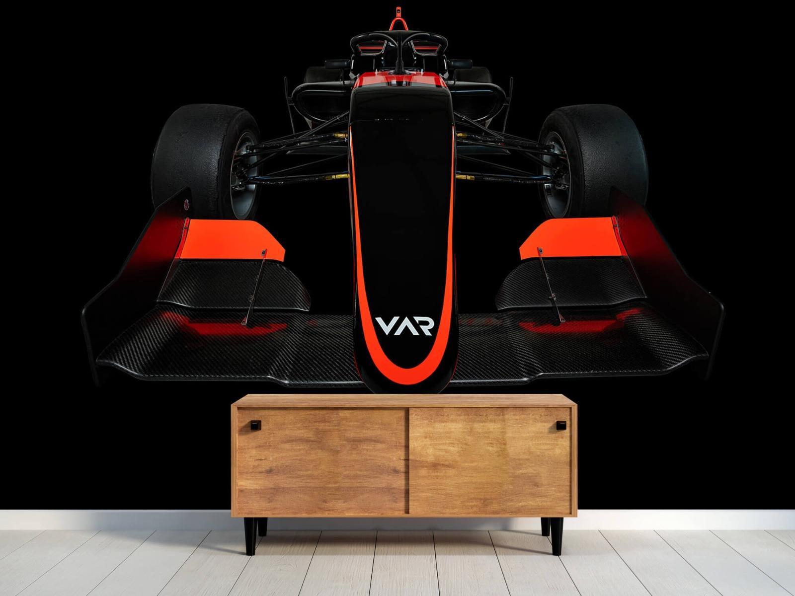 Sportauto's - Formule 3 - Lower front view - dark - Slaapkamer 10