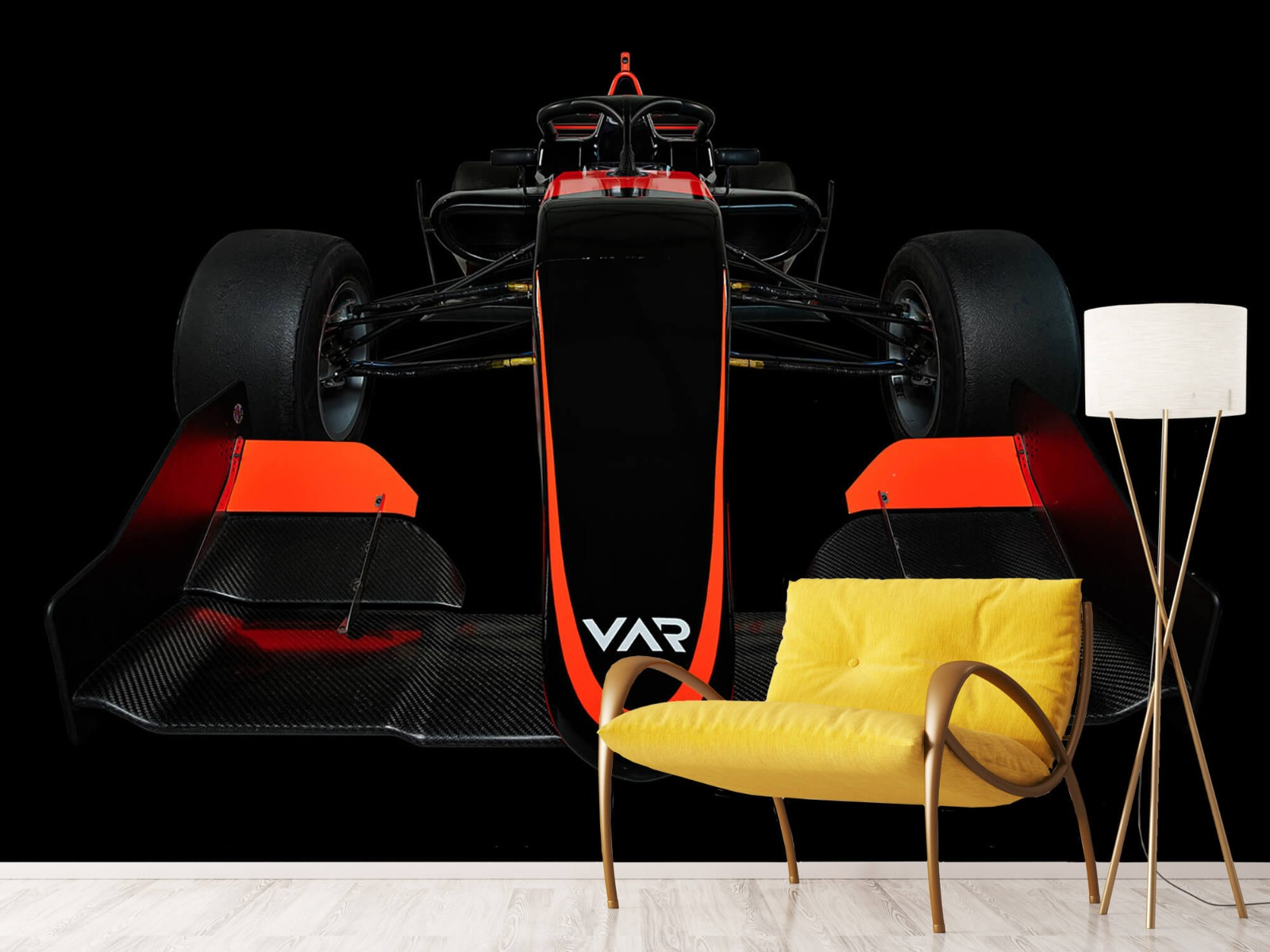 Sportauto's - Formule 3 - Lower front view - dark - Slaapkamer 11