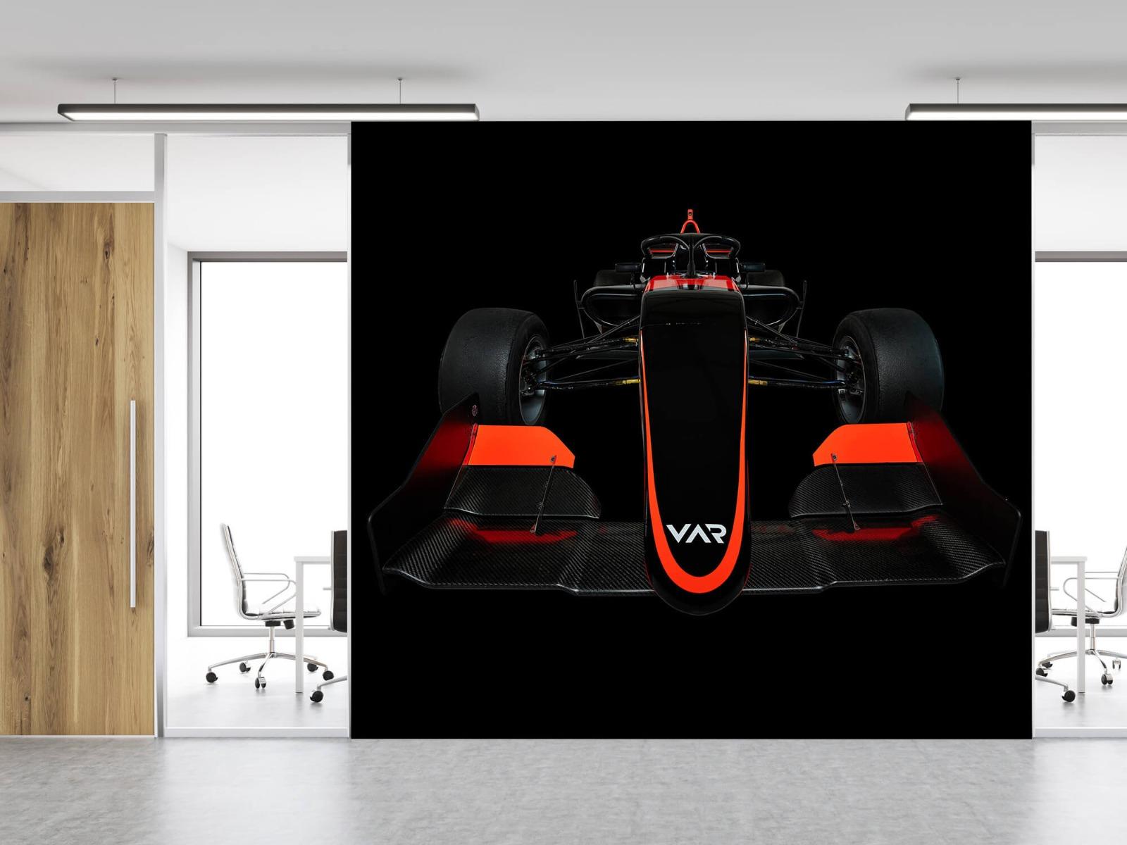 Sportauto's - Formule 3 - Lower front view - dark - Slaapkamer 12
