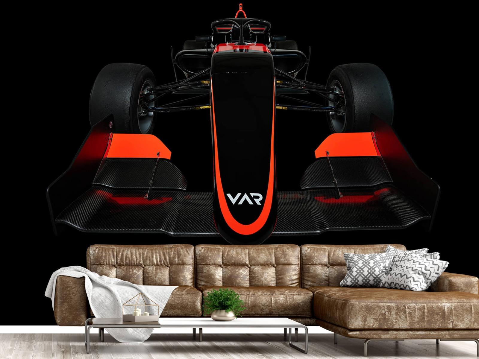 Sportauto's - Formule 3 - Lower front view - dark - Slaapkamer 15