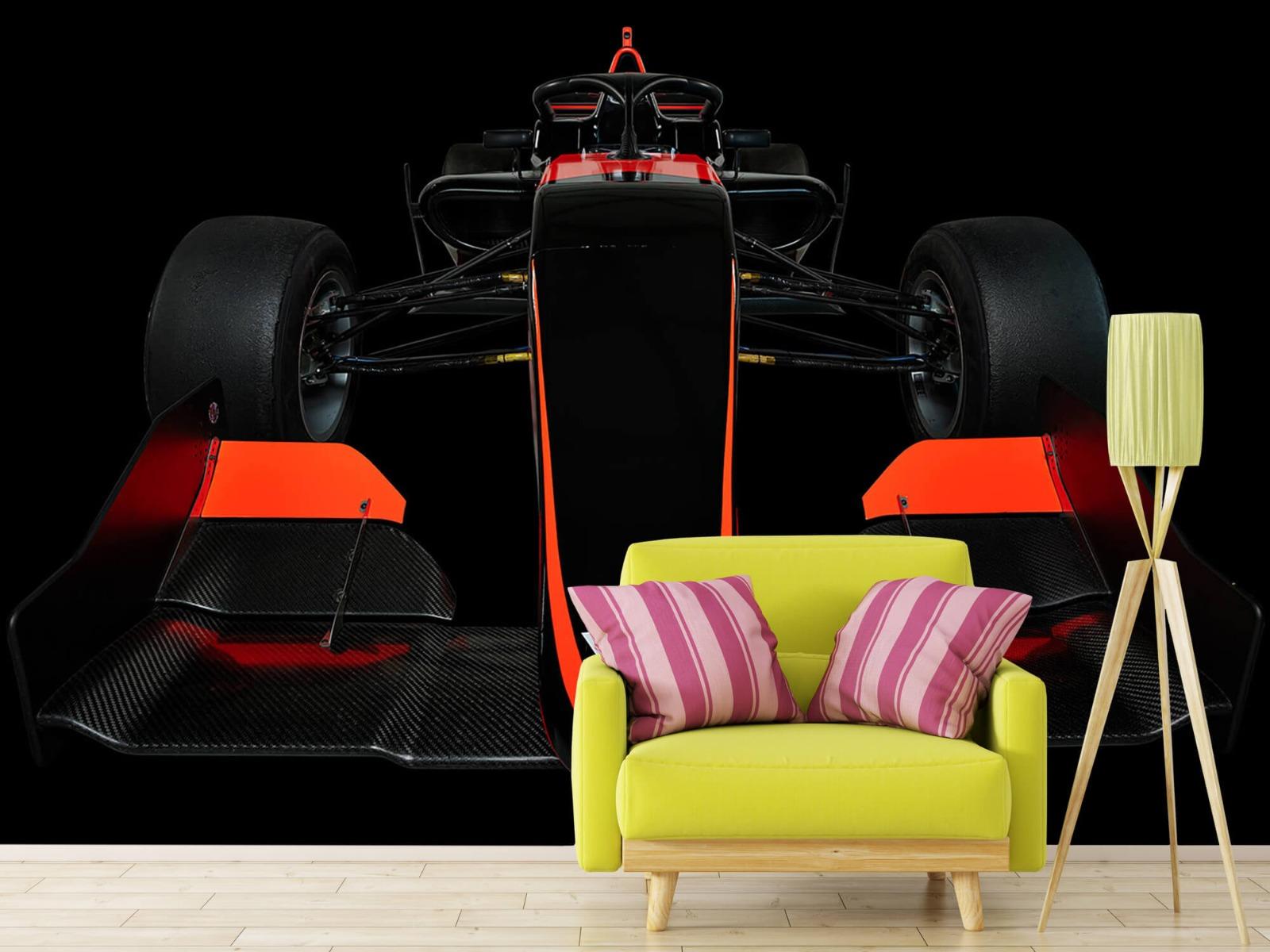 Sportauto's - Formule 3 - Lower front view - dark - Slaapkamer 18