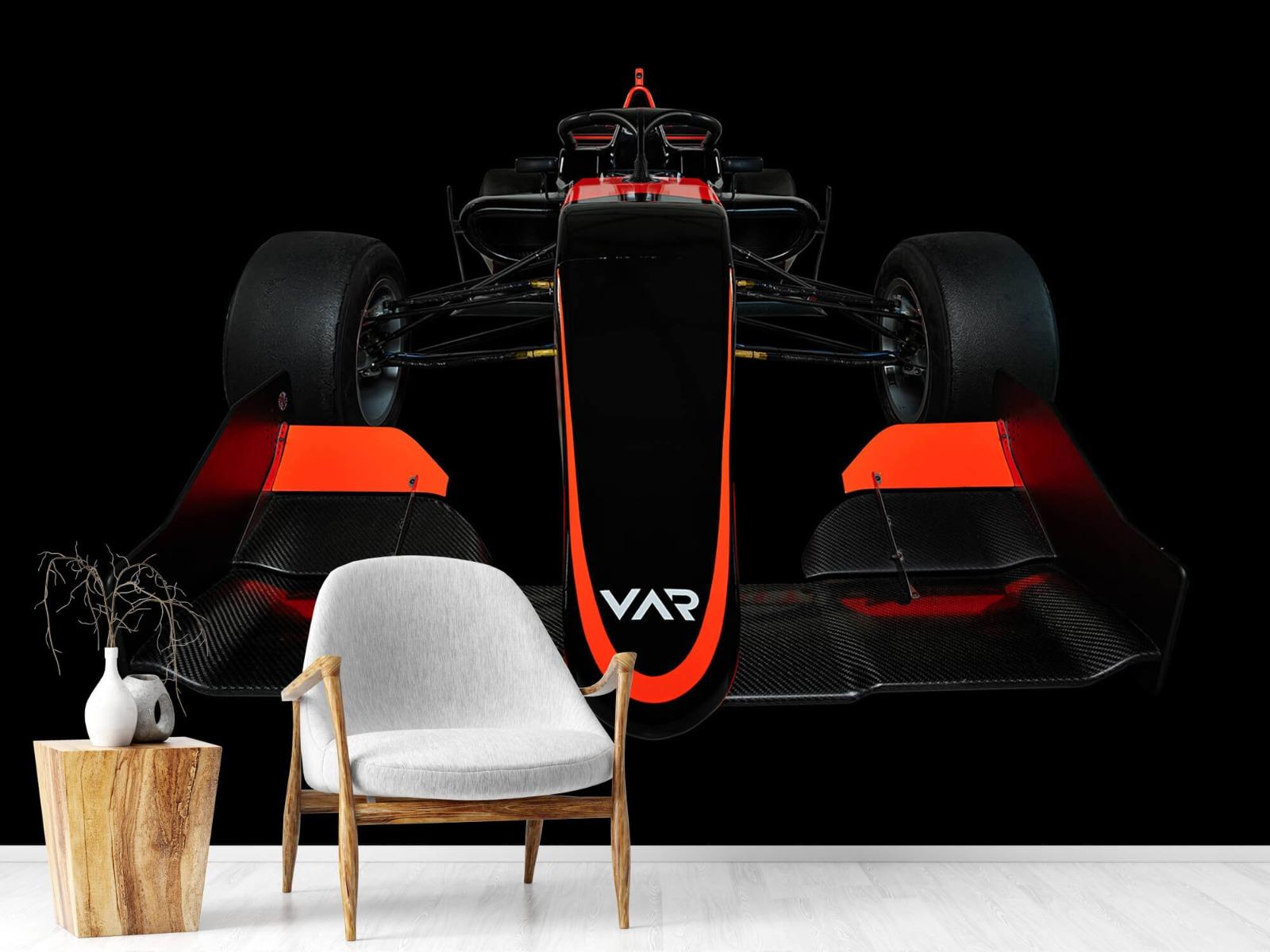 Sportauto's - Formule 3 - Lower front view - dark - Slaapkamer 19