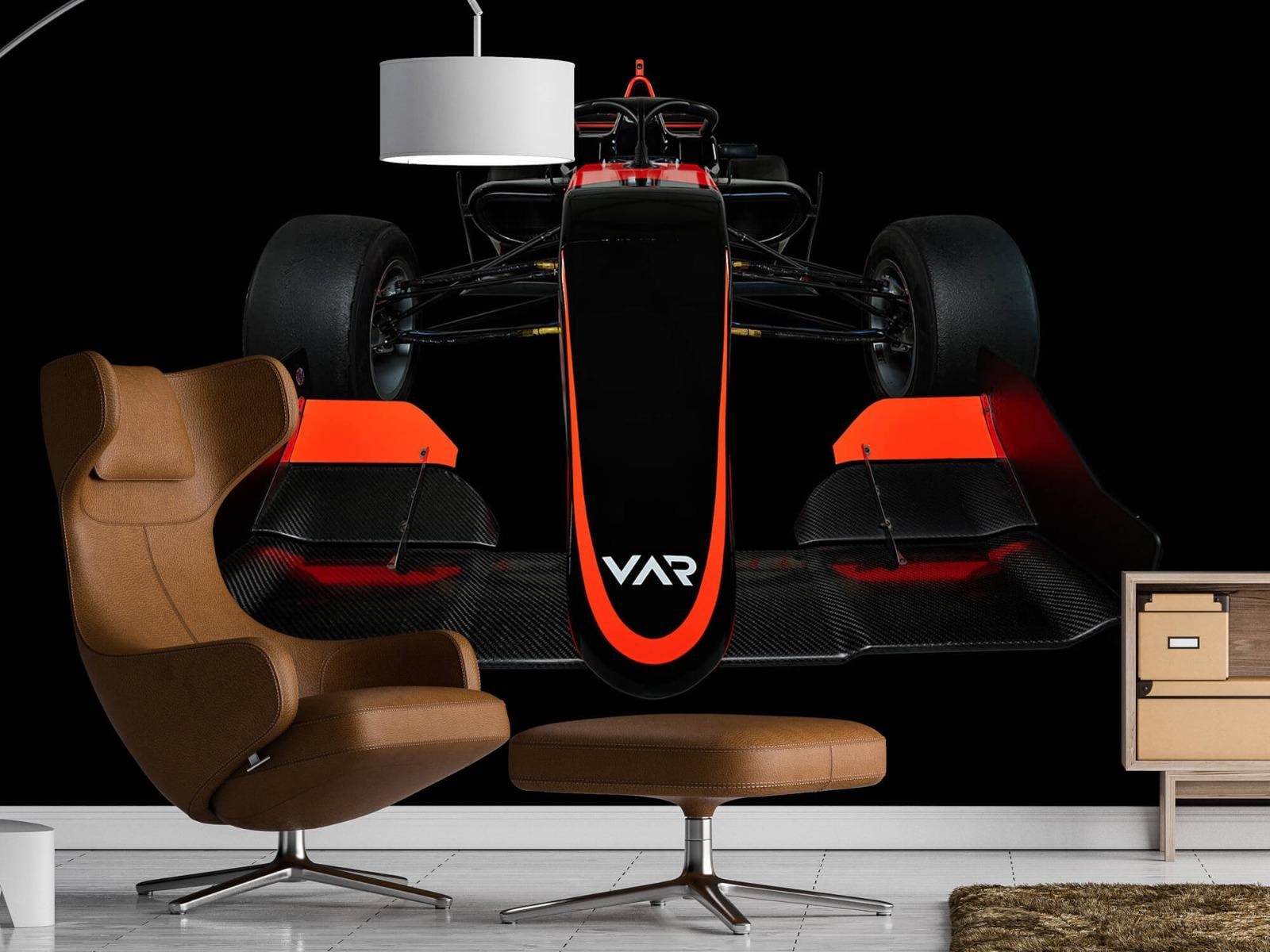 Sportauto's - Formule 3 - Lower front view - dark - Slaapkamer 1