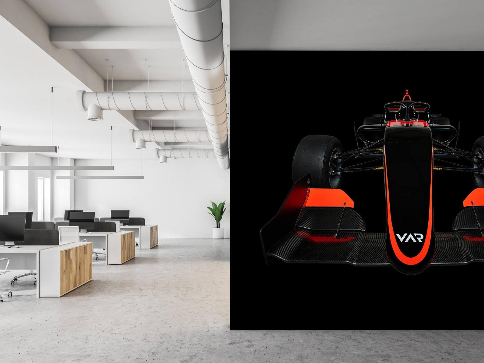 Sportauto's - Formule 3 - Lower front view - dark - Slaapkamer 21