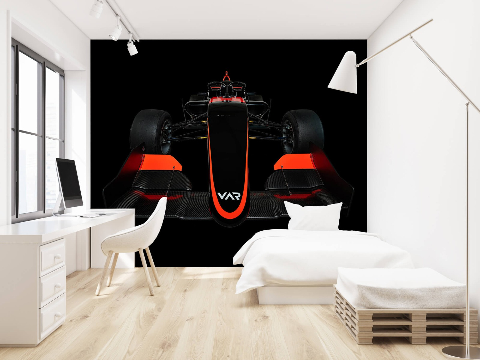 Sportauto's - Formule 3 - Lower front view - dark - Slaapkamer 22
