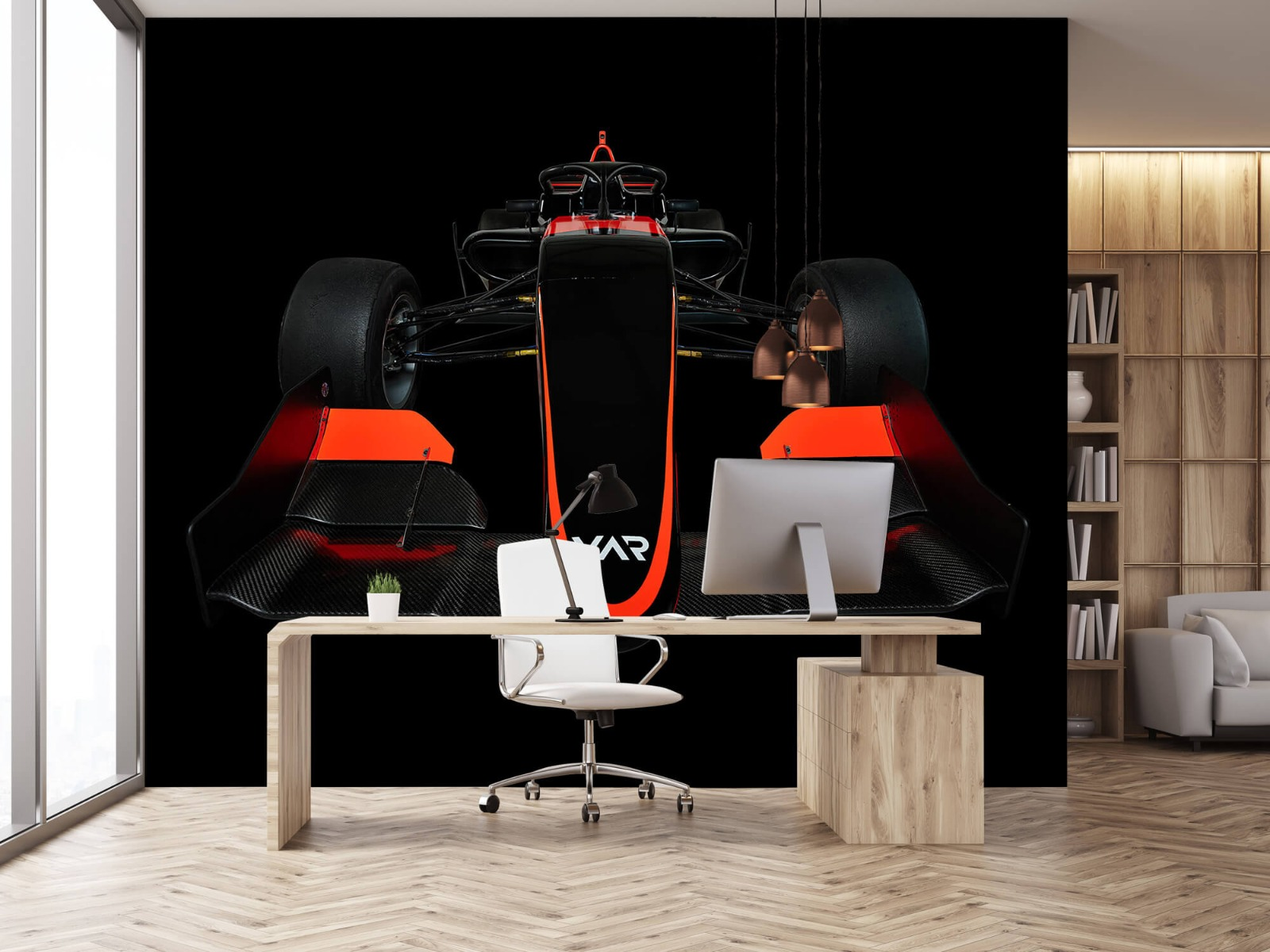 Sportauto's - Formule 3 - Lower front view - dark - Slaapkamer 24