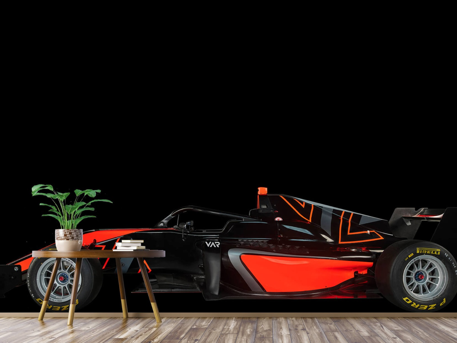 Sportauto's - Formule 3 - Lower side view - dark - Tienerkamer 4