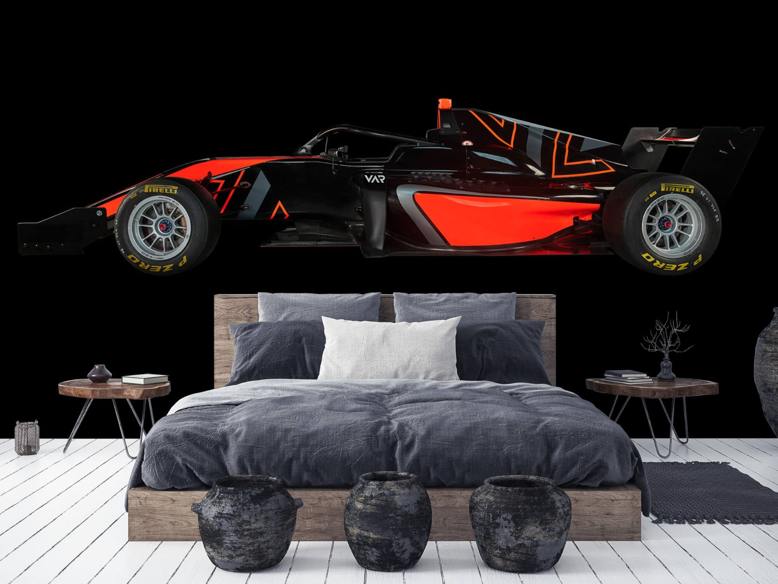 Sportauto's - Formule 3 - Lower side view - dark - Tienerkamer 6