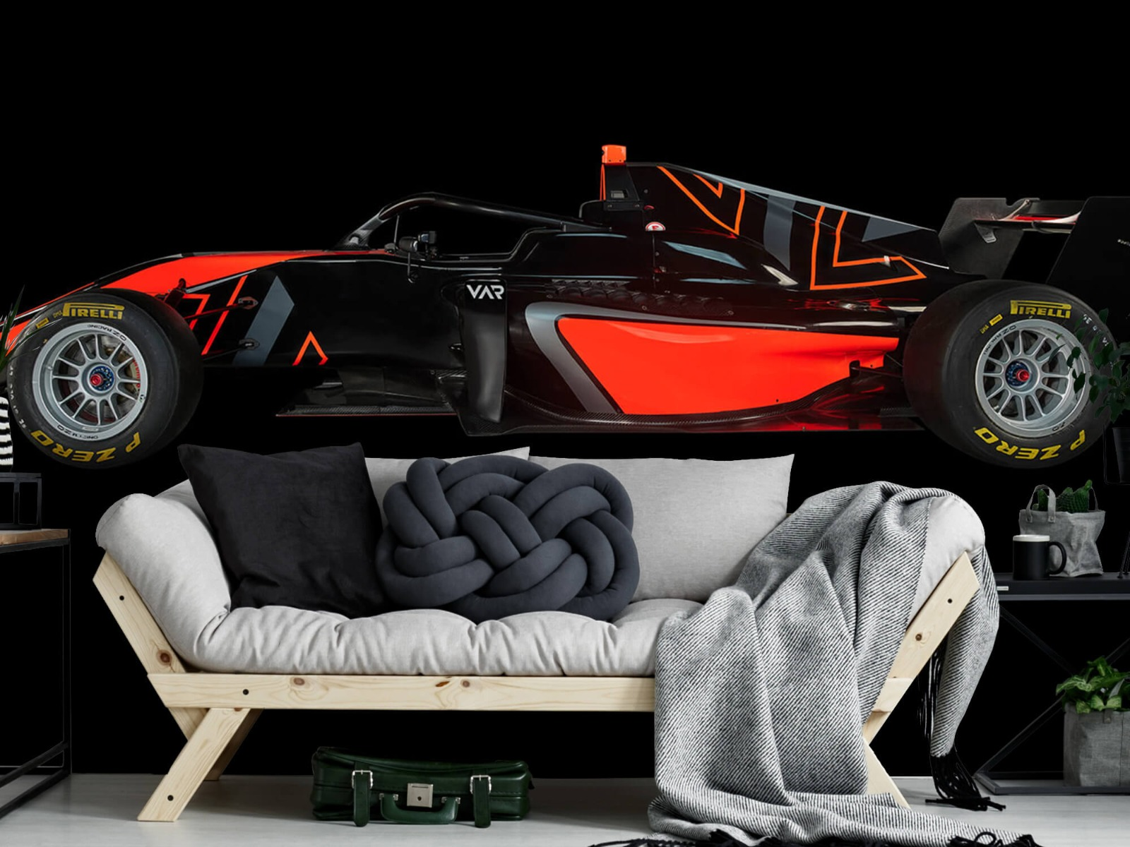 Sportauto's - Formule 3 - Lower side view - dark - Tienerkamer 7