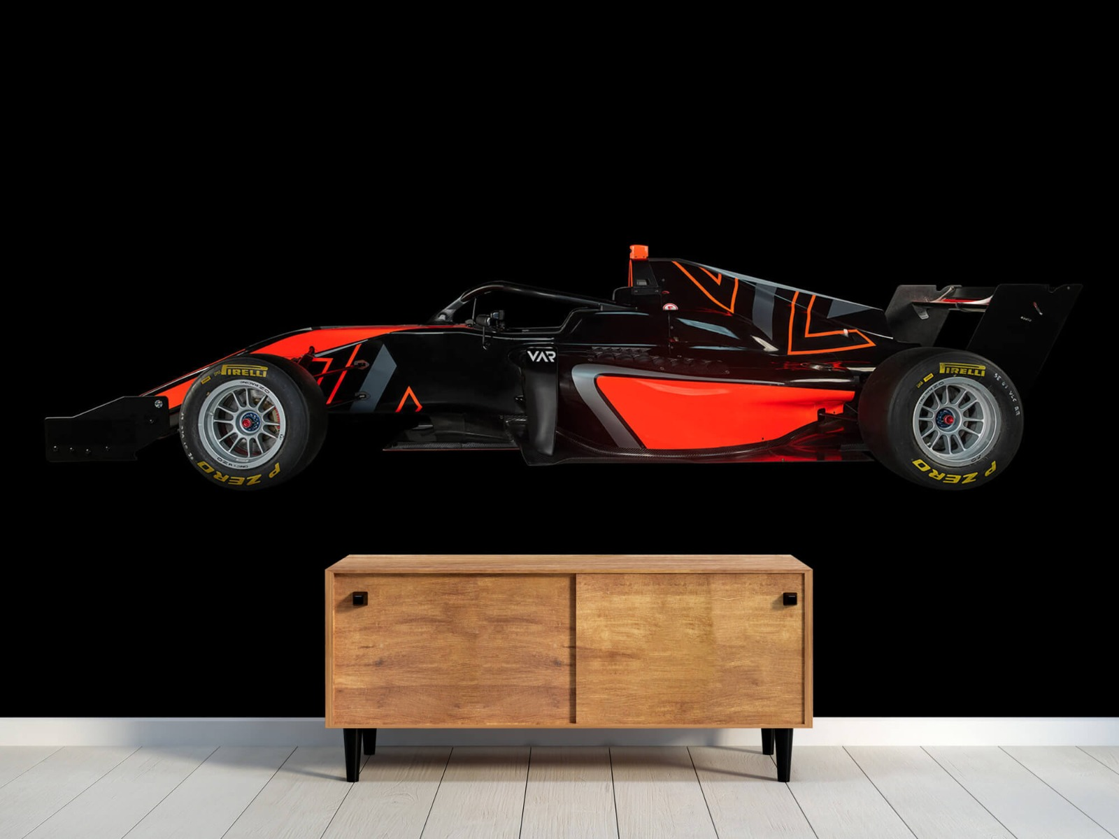 Sportauto's - Formule 3 - Lower side view - dark - Tienerkamer 10