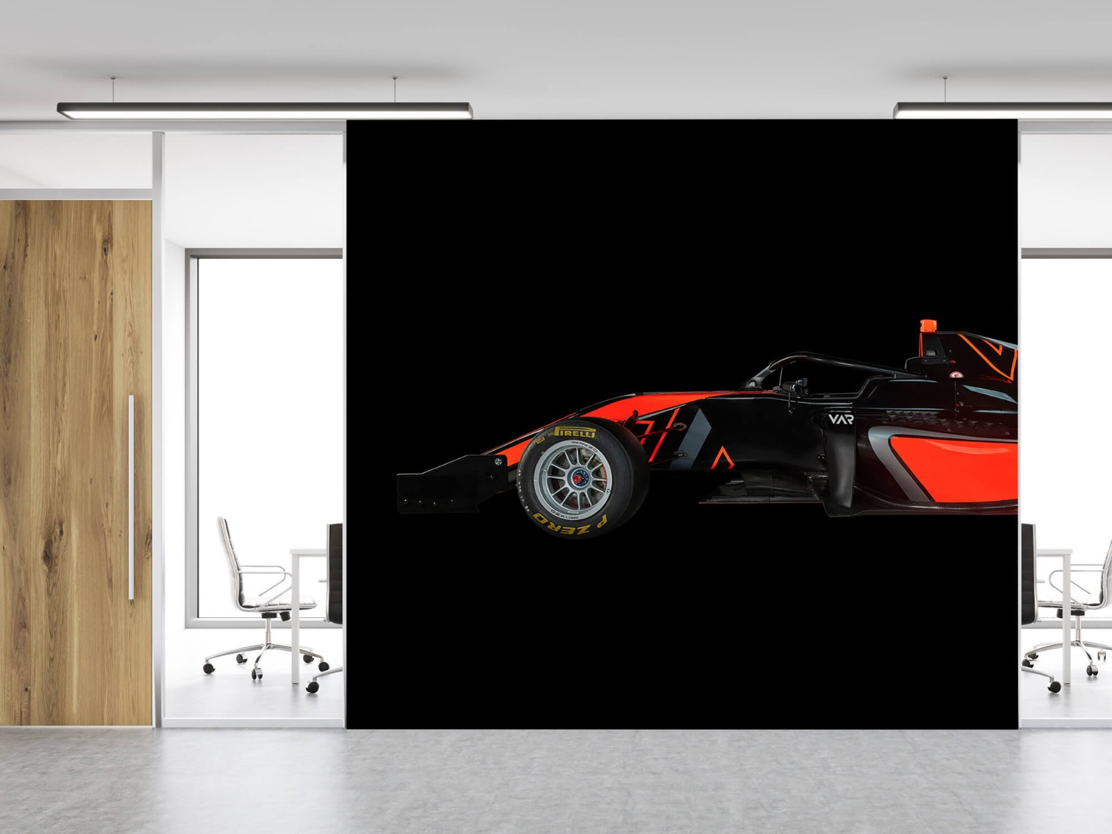 Sportauto's - Formule 3 - Lower side view - dark - Tienerkamer 12