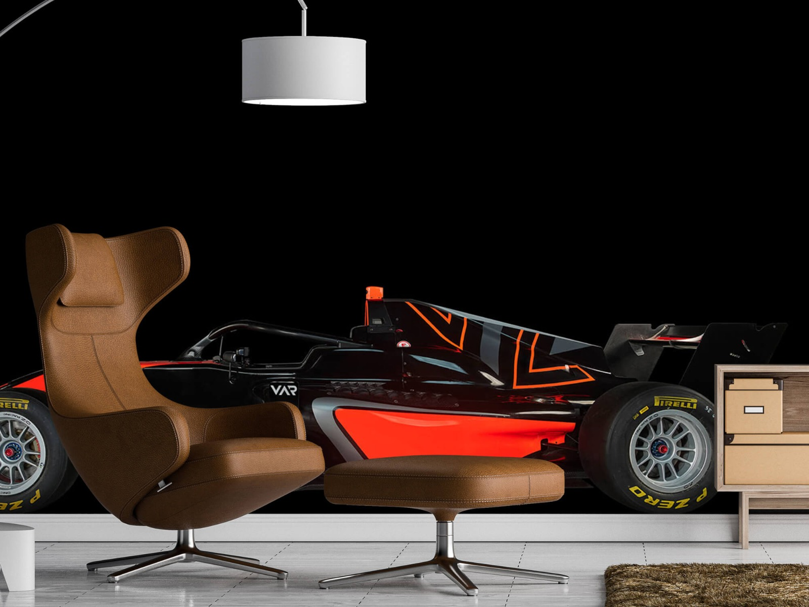 Sportauto's - Formule 3 - Lower side view - dark - Tienerkamer 19
