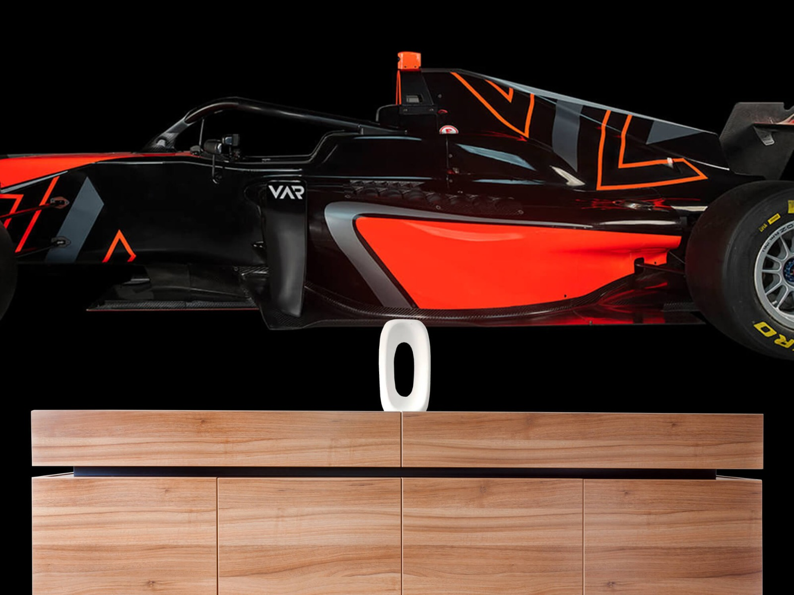 Sportauto's - Formule 3 - Lower side view - dark - Tienerkamer 20