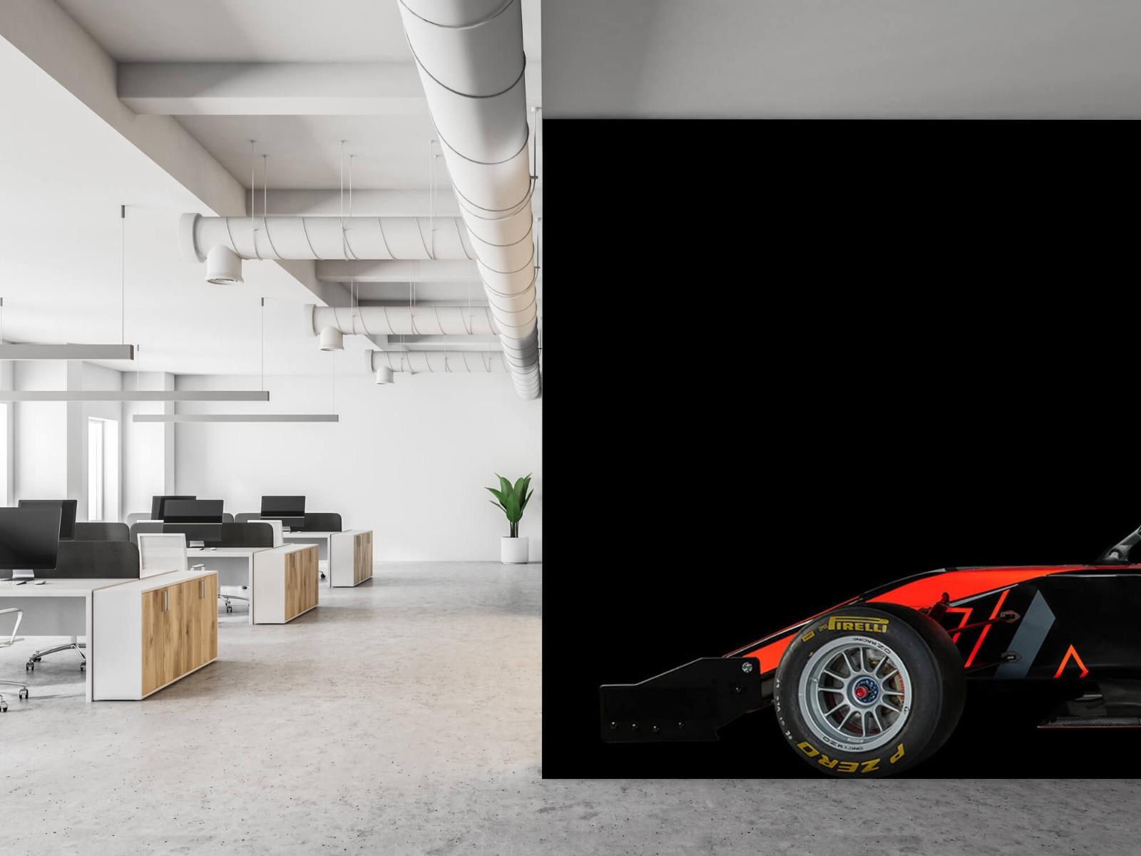 Sportauto's - Formule 3 - Lower side view - dark - Tienerkamer 21