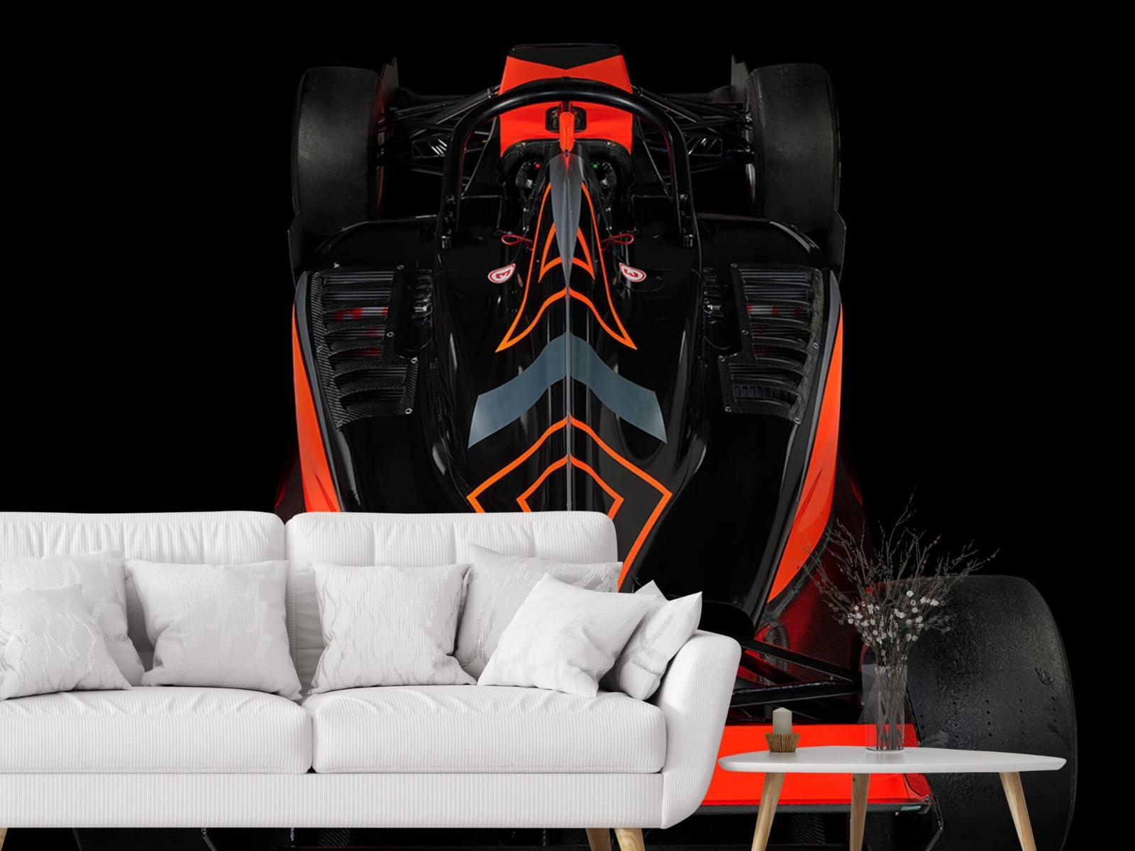 Sportauto's - Formule 3 - Rear view - dark - Tienerkamer 3