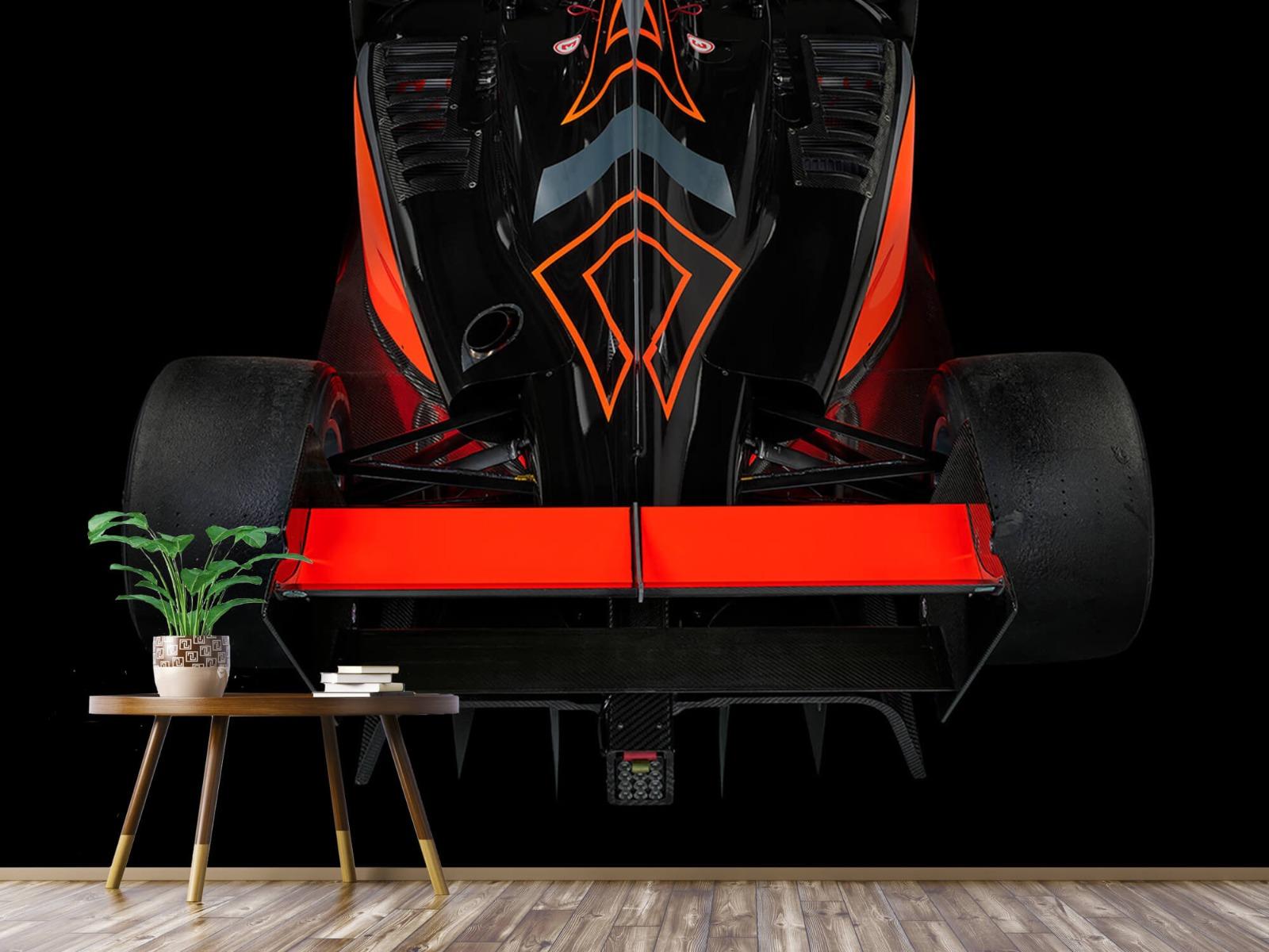 Sportauto's - Formule 3 - Rear view - dark - Tienerkamer 1